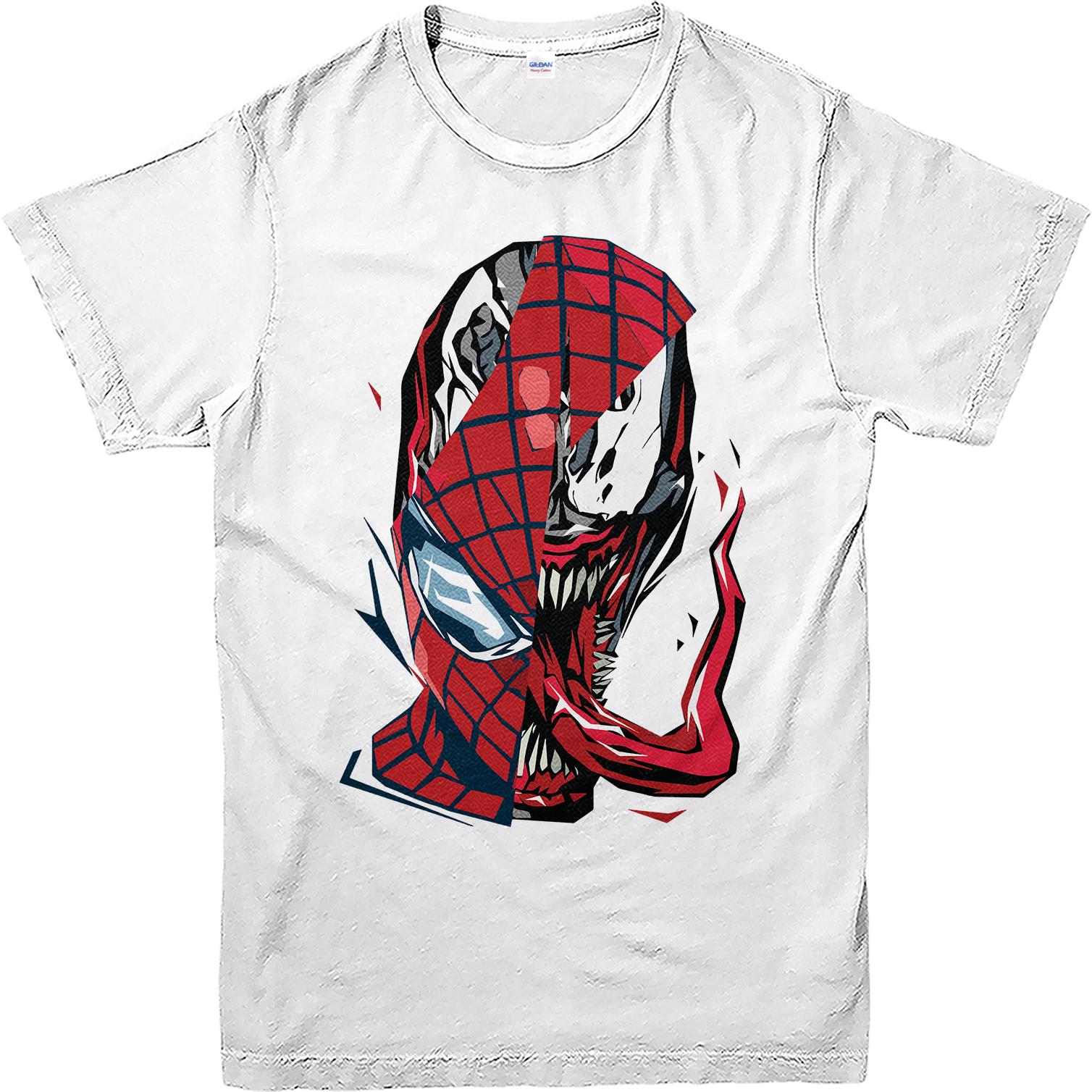 spiderman tshirt venom spiderman face tshirt marvels