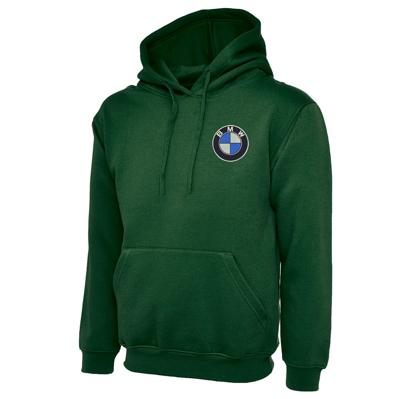Embroidered Bmw Logo Hoodie Workwear Uniform Bmw M Sports