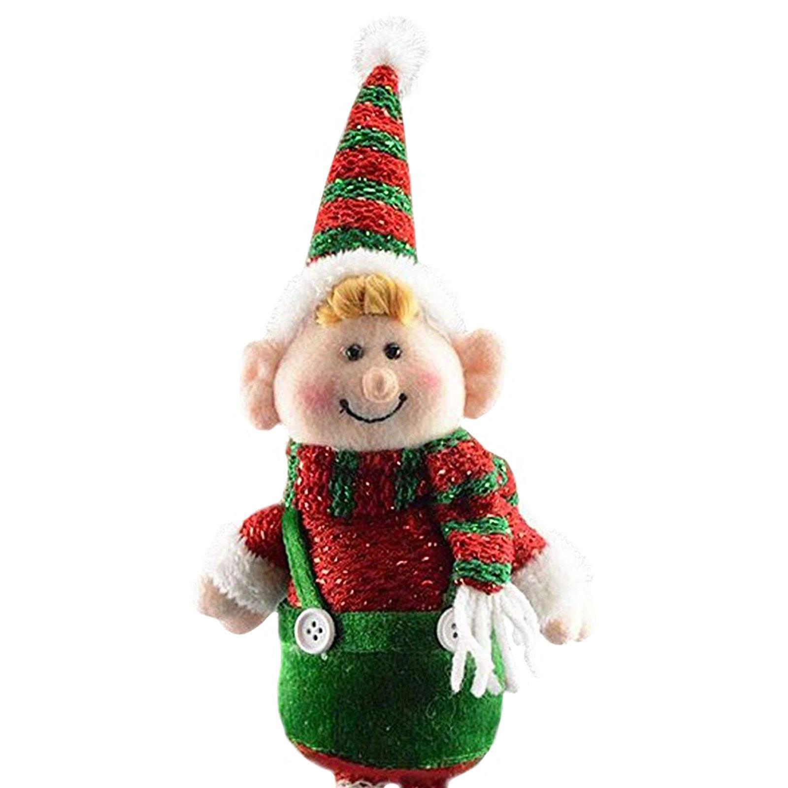 Theme Machine Plush Elf Toy Christmas Decoration Elf Girl
