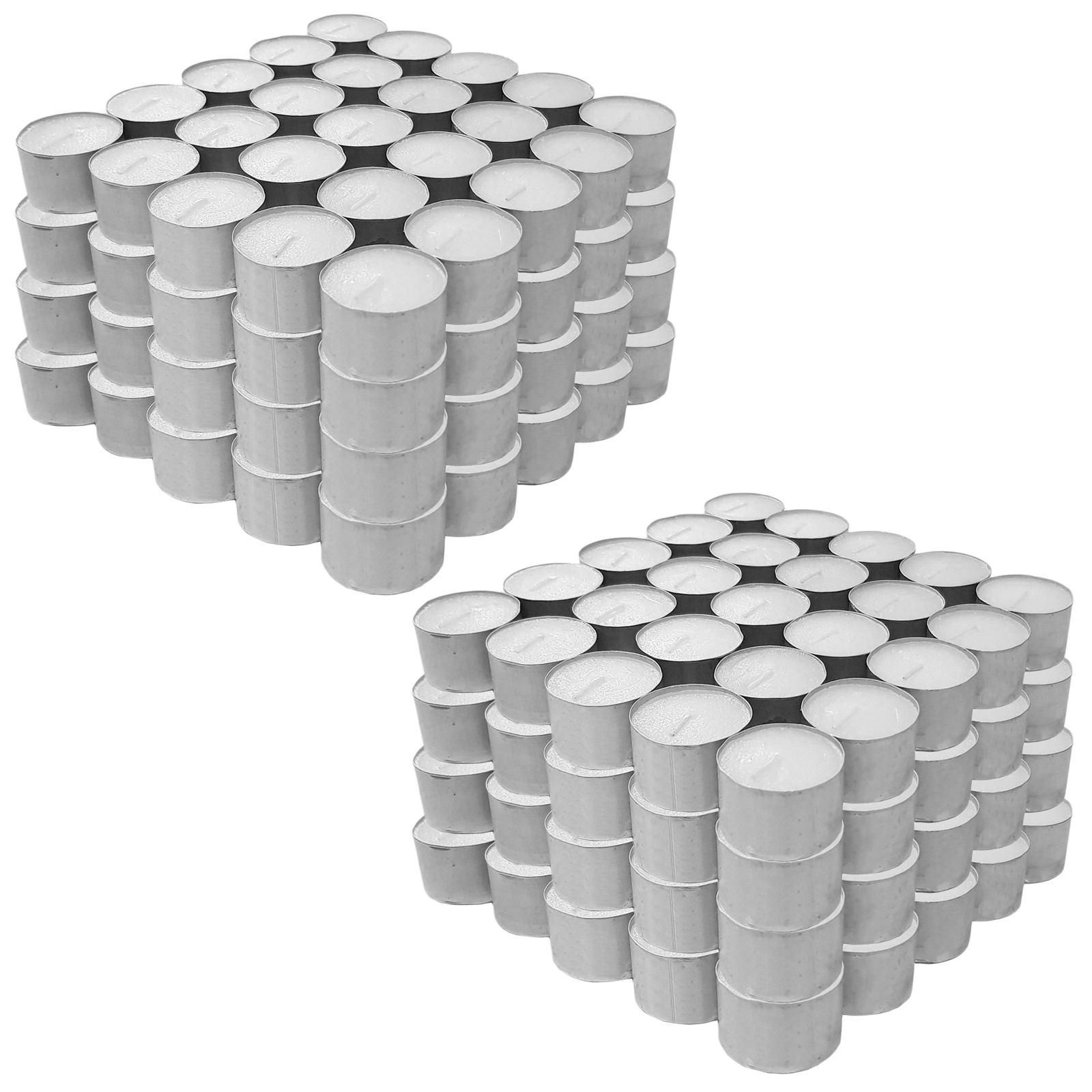50-x-Tealights-Long-8-Hour-Burning-Time-White-Unscented-Party-Candle-Tea-Lights