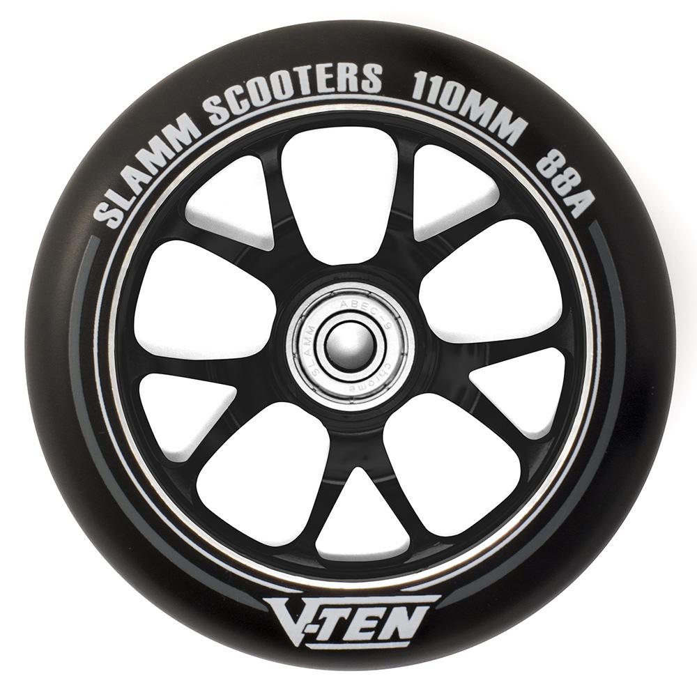 Slamm 110mm V-10 II Reifen Schwarz Rollerräder Einrad