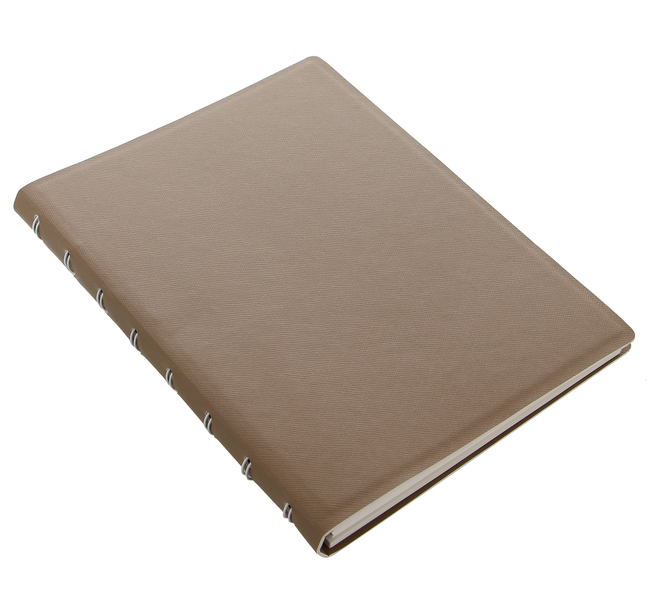 Filofax Notebook Saffiano A5 Schwarz Notizbuch Kunstleder nachfüllbar 115032