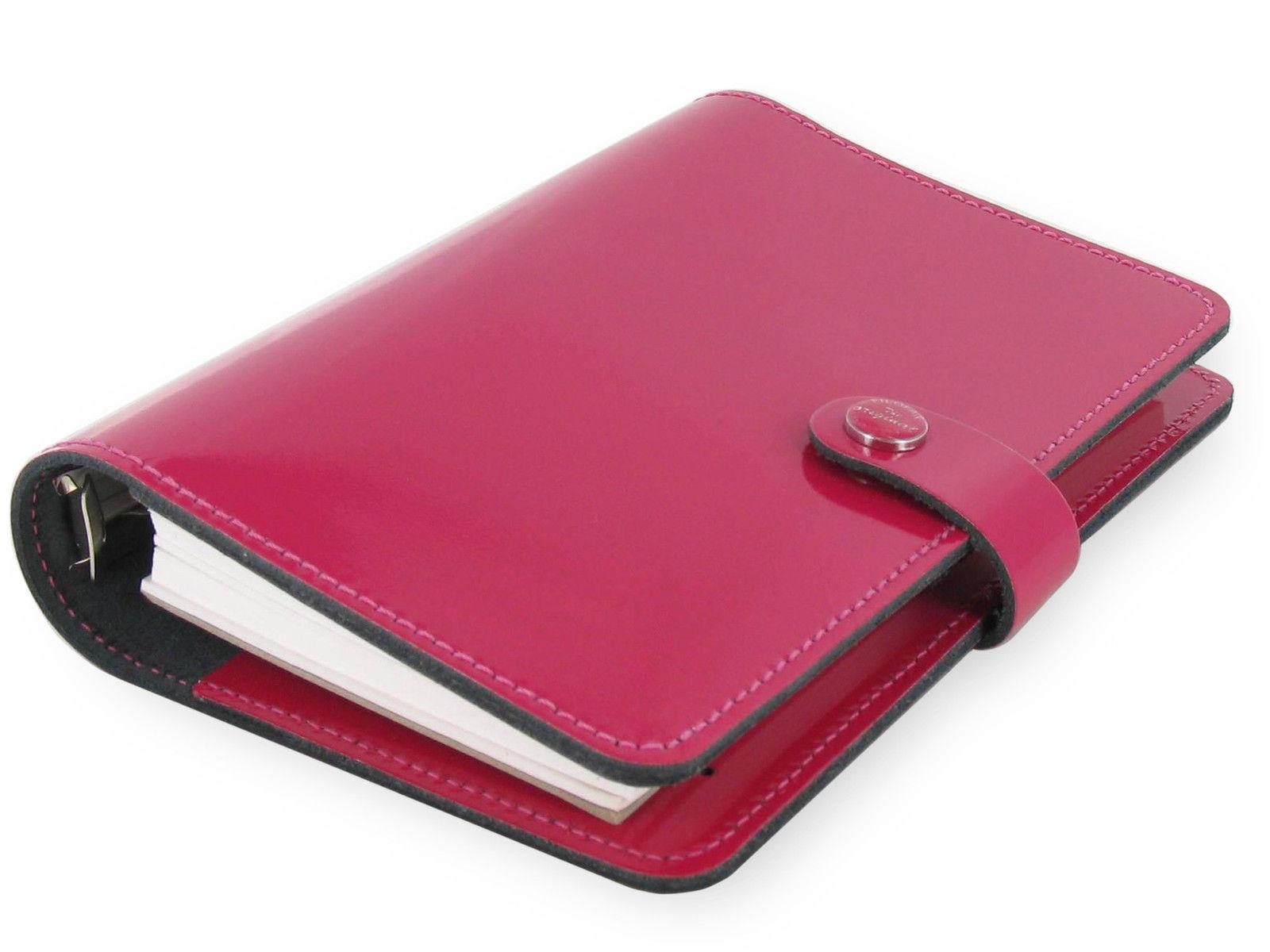 Nero Filofax colore Agenda personale Patent