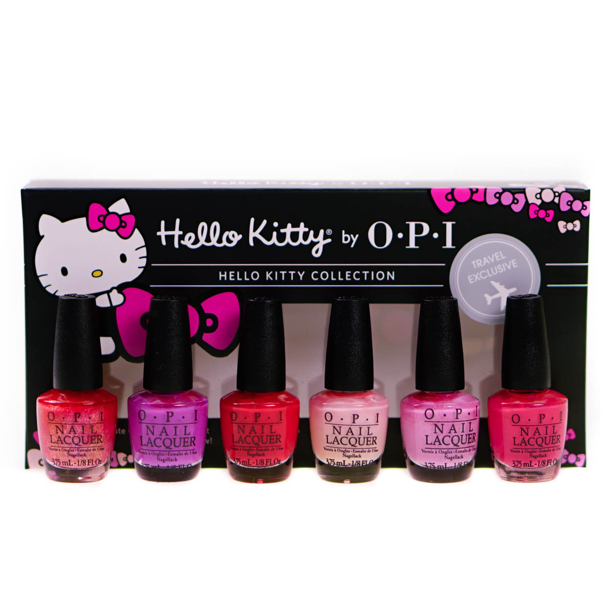 Opi Hello Kitty Nail Polish Collection Gift Set 6 X 3 75ml
