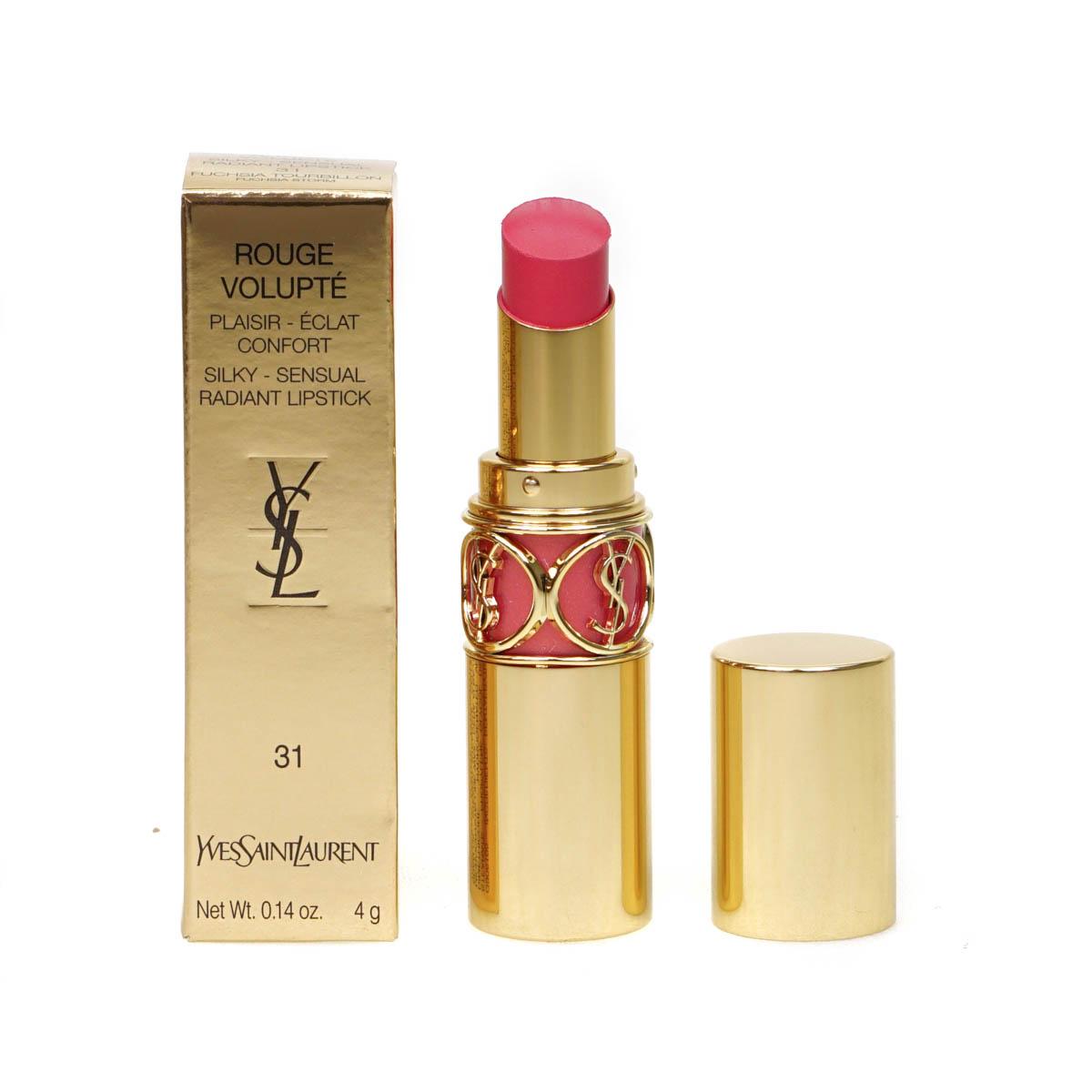 Yves Saint Laurent YSL Volupte Shine Pink Lipstick Fuchsia Storm Peach Passion | eBay