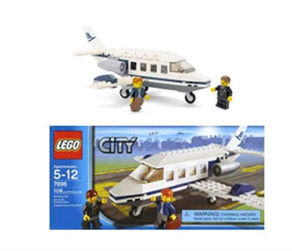 LEGO CITY JET 7696 PLANE AIRPLANE 7688 7643 GLIDER 4442 ...
