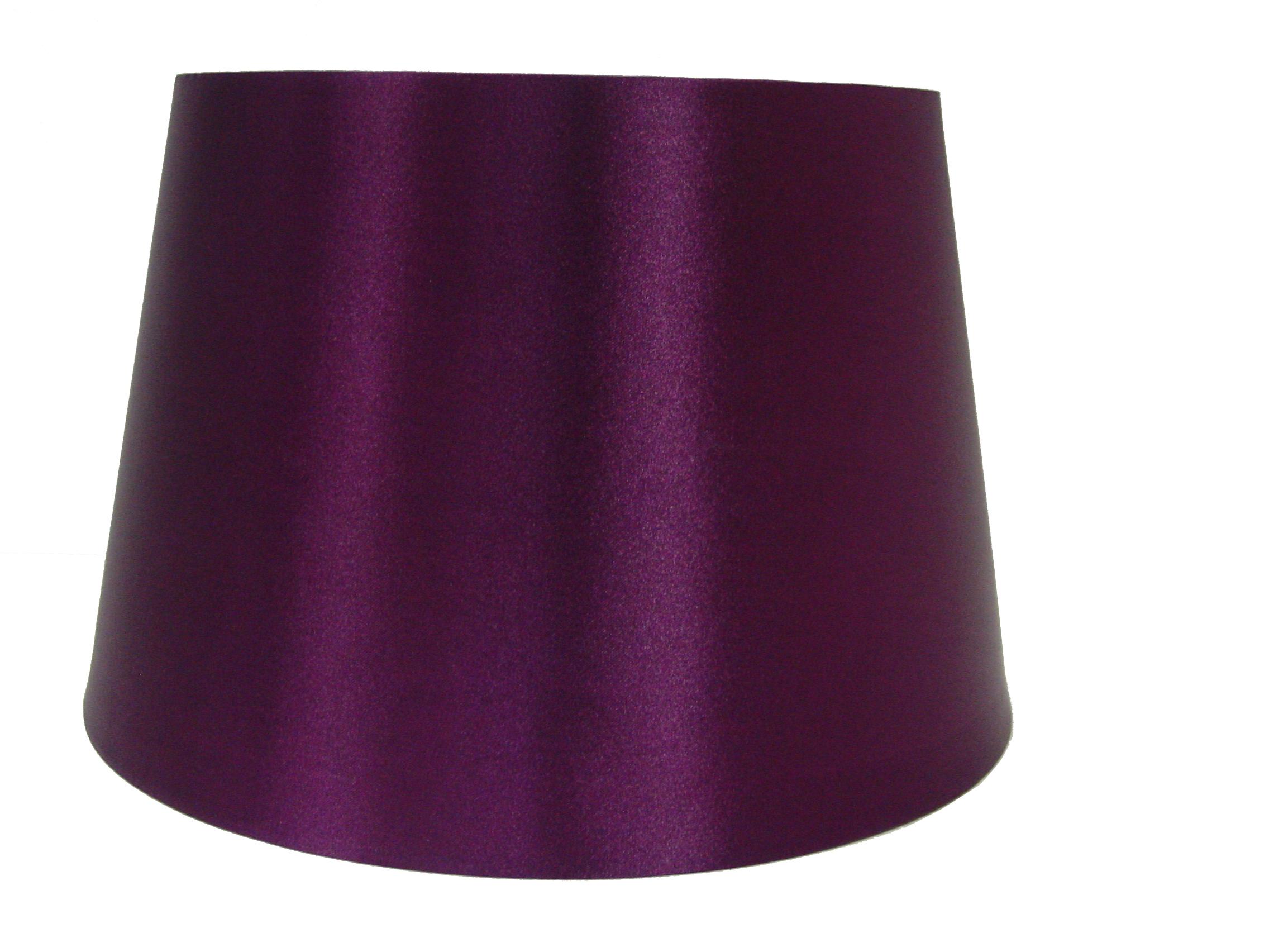 14 Quot Satin Drum Ceiling Table Lamp Shade Lampshade Plum