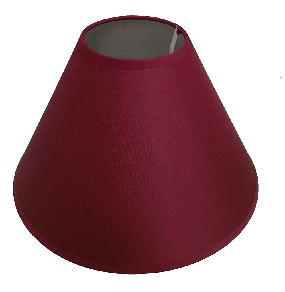 11 Coolie Ceiling Table Lamp Shade Black Cream Lilac Lime Red White Wine