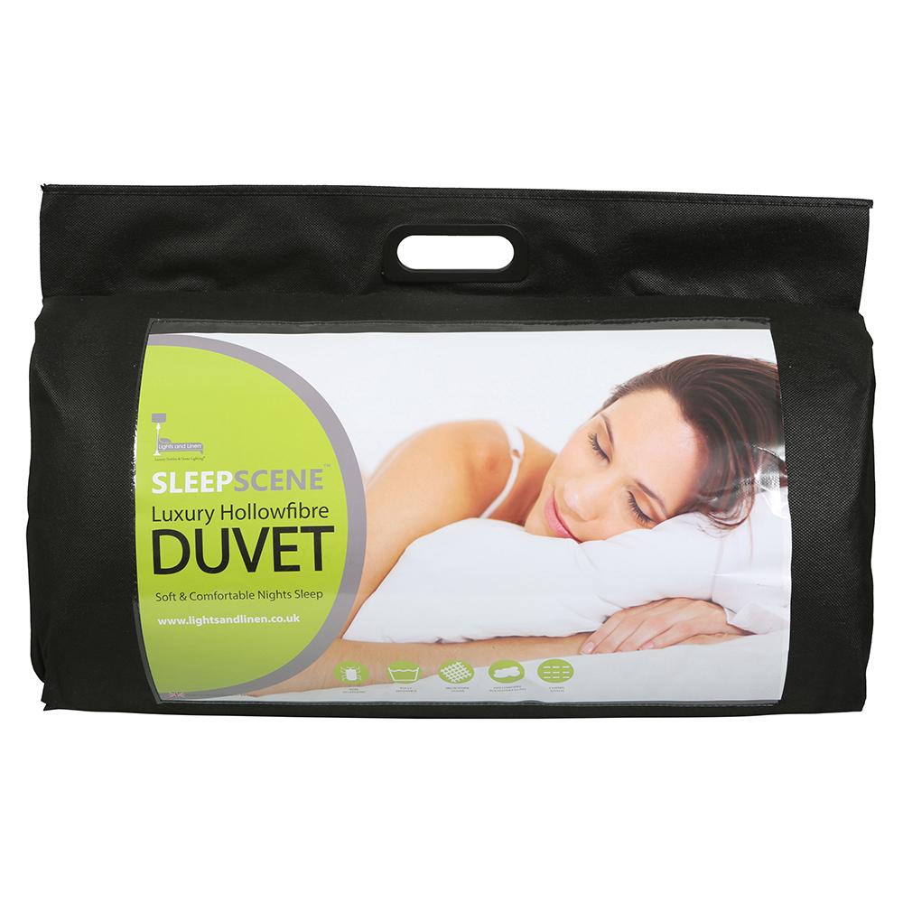 Sleepscene 13.5 Tog Warm Hollowfibre Duvet Quilt Single Double King Super King
