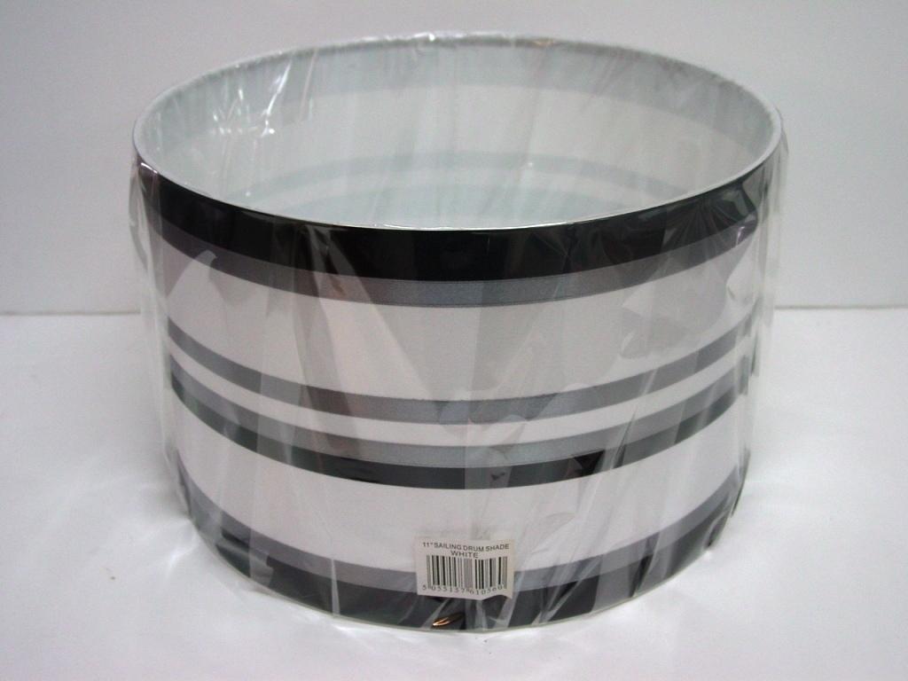 11 Quot Drum Ribbon Pendant Ceiling Table Lamp Shade Aubergine
