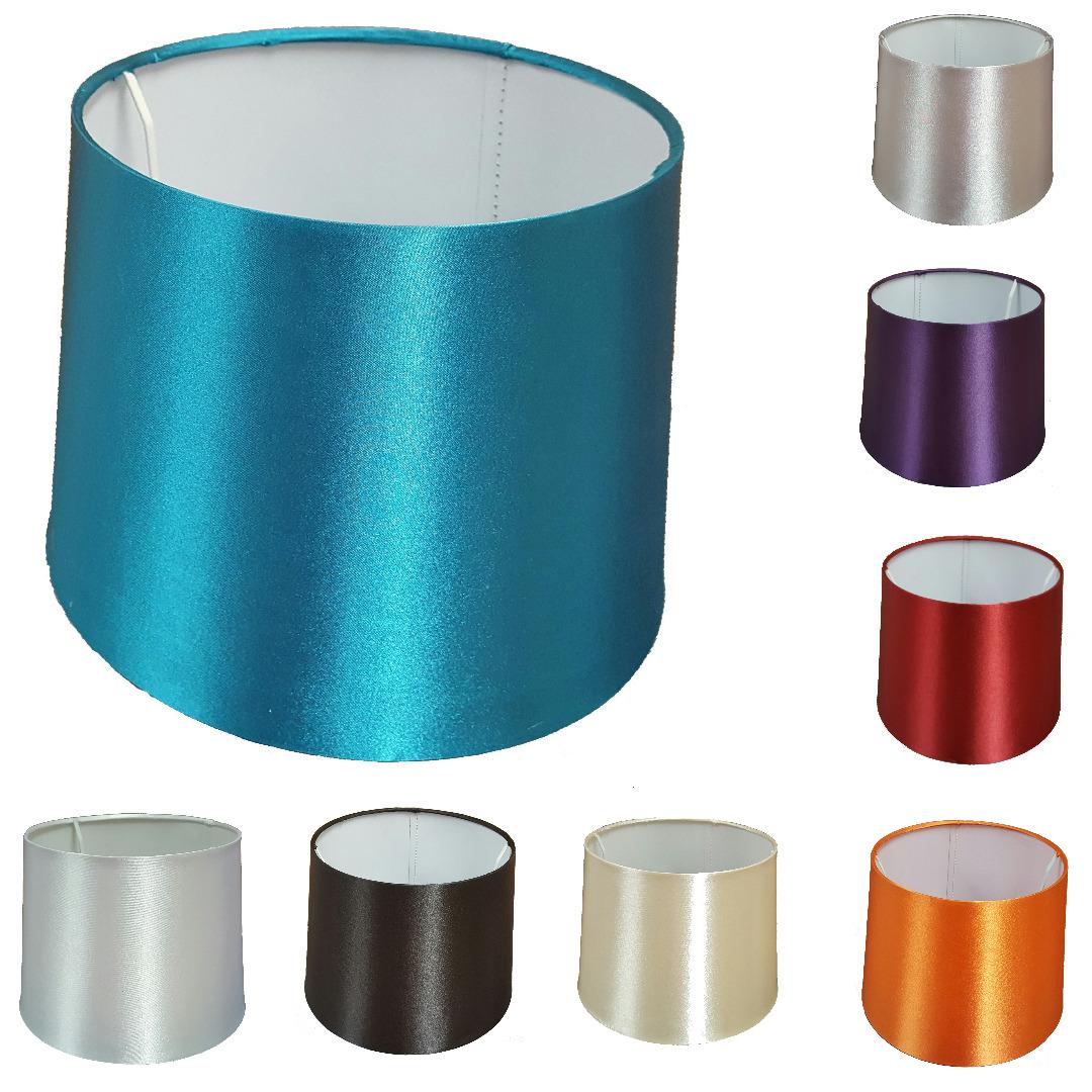 12 Inch Empire Drum Pendant Ceiling Table Lamp Shade Black