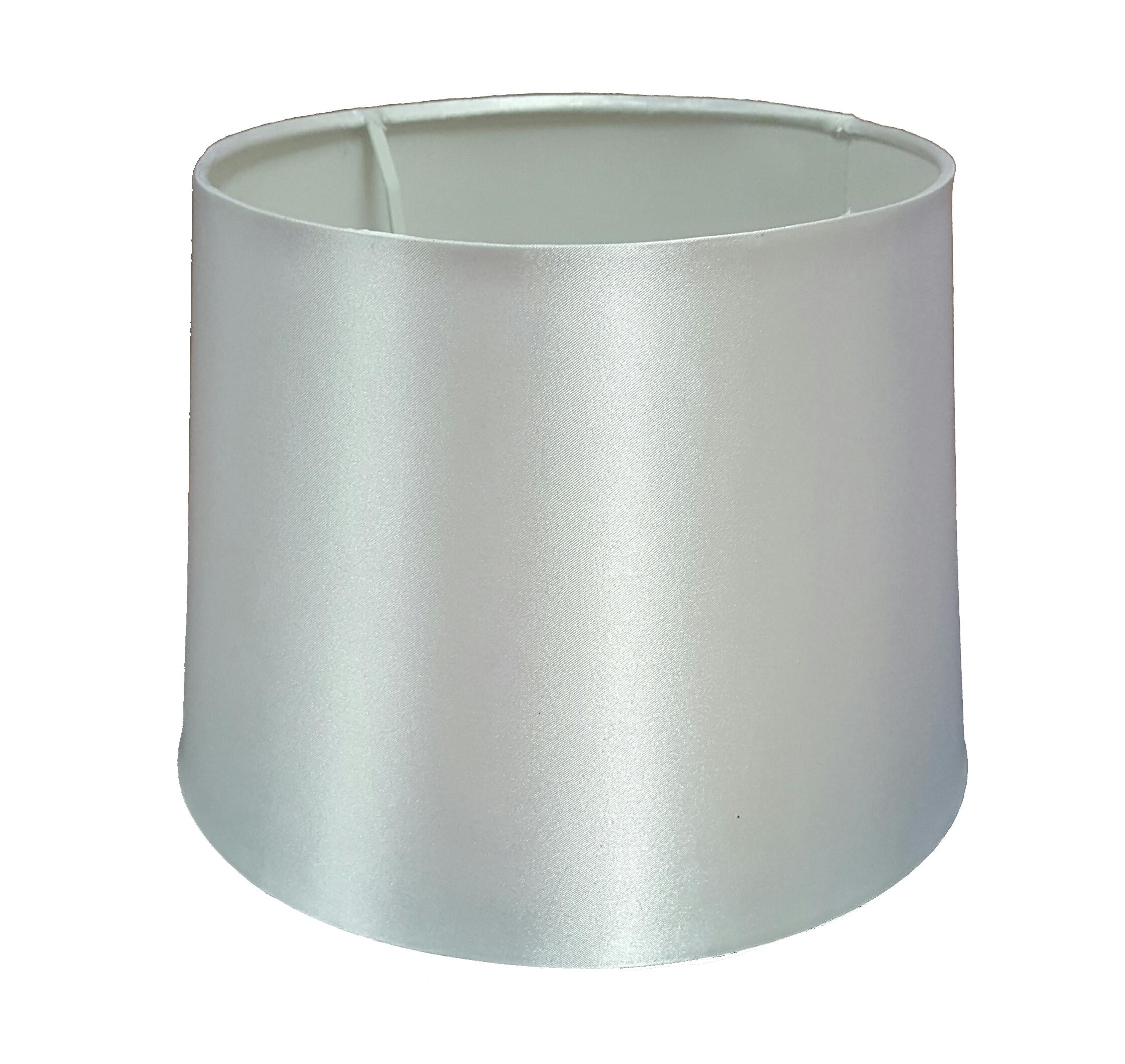 empire trommel decken lampe tisch lampenschirm bold farben satineffekt ebay. Black Bedroom Furniture Sets. Home Design Ideas