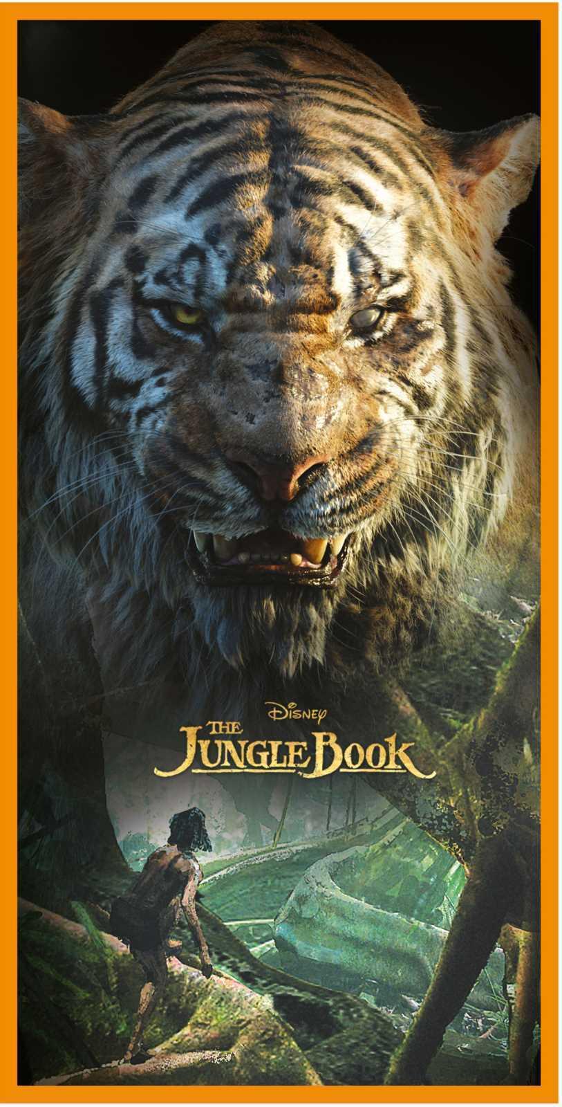 New Jungle Book Shere Khan Mowgli Beach Bath Towel Kids