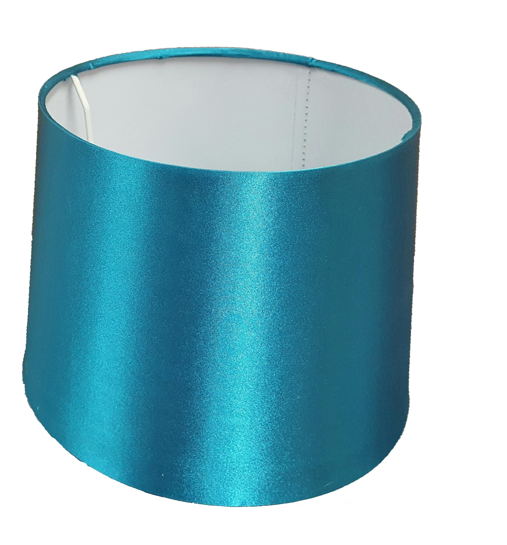 Ceiling Light Teal: 10 Inch Empire Drum Pendant Ceiling Table Lamp Shade Bold