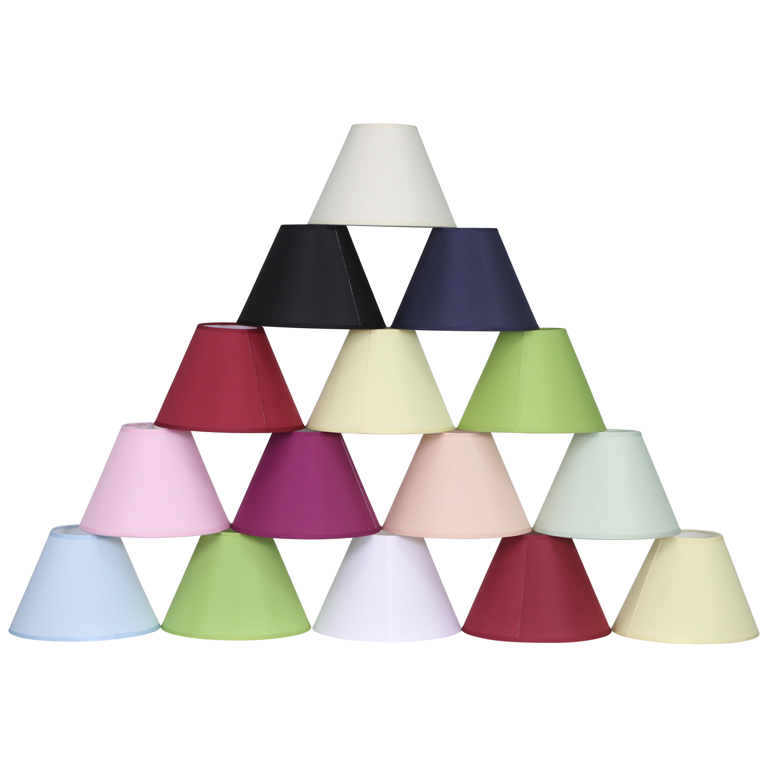 Contemporary plastic lampshades lightshades ebay 12 coolie ceiling table lamp shade black cream lilac lime red white wine geotapseo Image collections