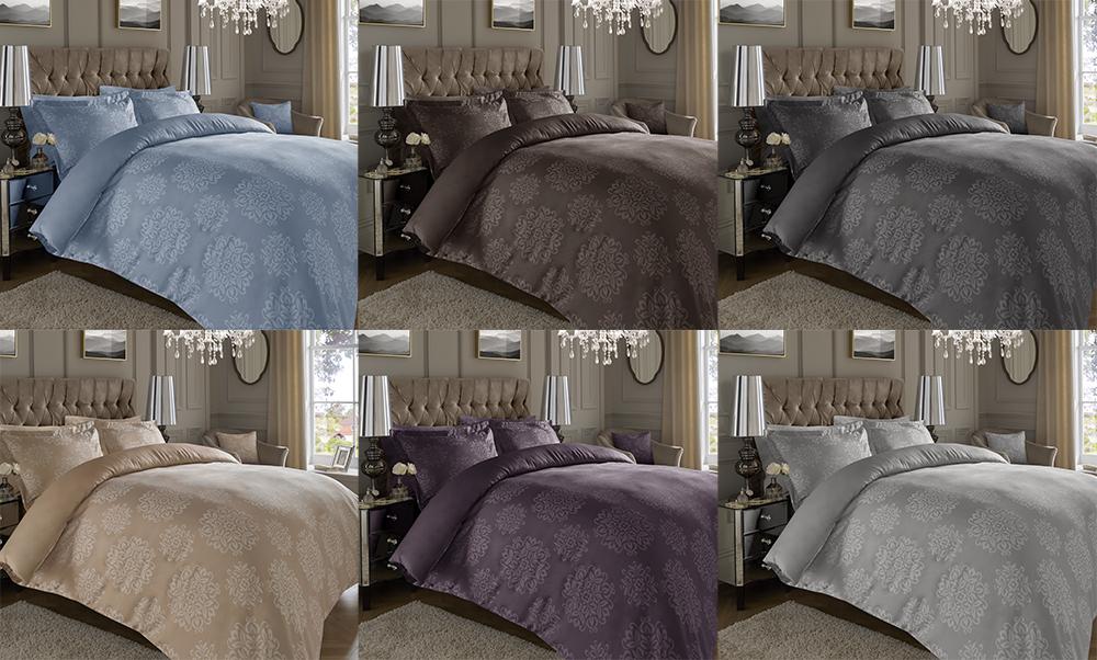 600tc qualit t jacquard hoch baumwollreich bettbezug sets verschiedene gr en ebay. Black Bedroom Furniture Sets. Home Design Ideas