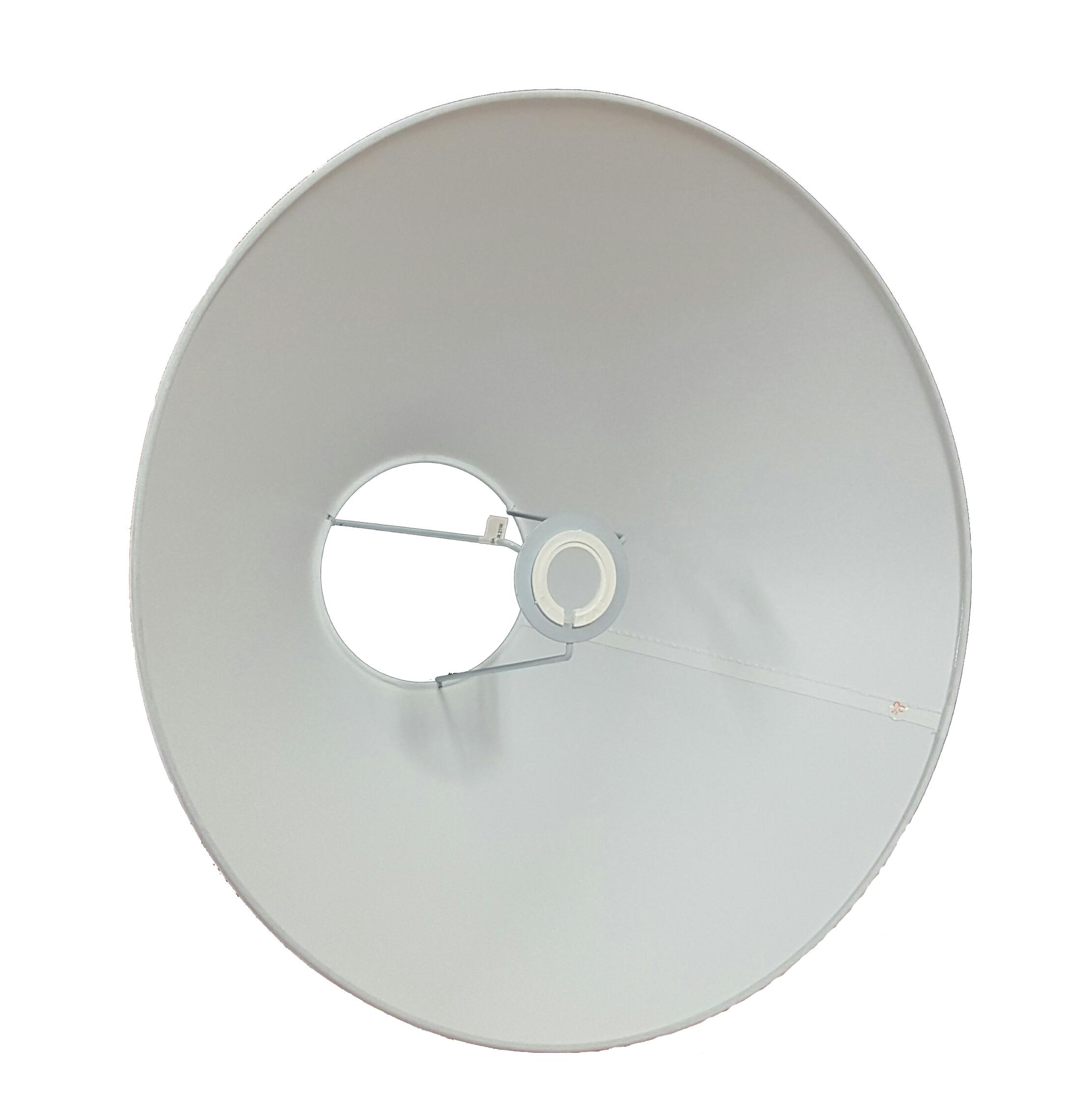 Nouveau 16 in Coolie Abat-jour polyvalent élégant disponible en blanc ou crème environ 40.64 cm