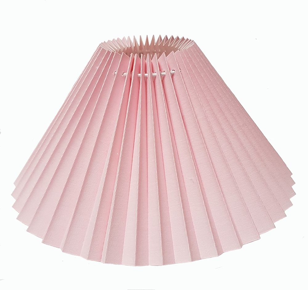 """Pleated Lamp Shades For Table Lamps: 12"""" Pleated Coolie Pendant Ceiling Table Lamp Shade In"""