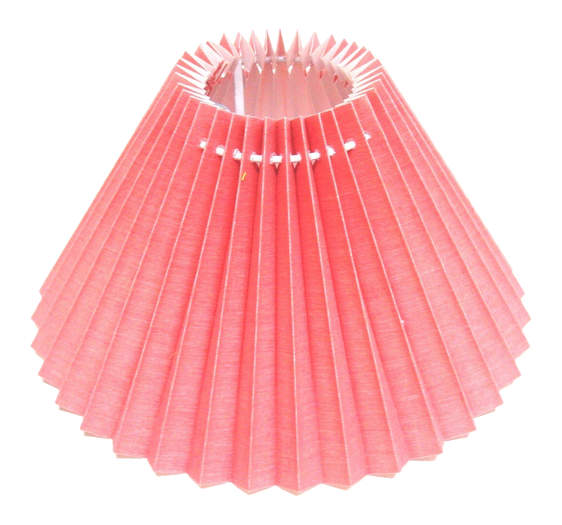 "Pleated Lamp Shades For Table Lamps: New 12"" Pleated Coolie Pendant Ceiling Table Lamp Shade"