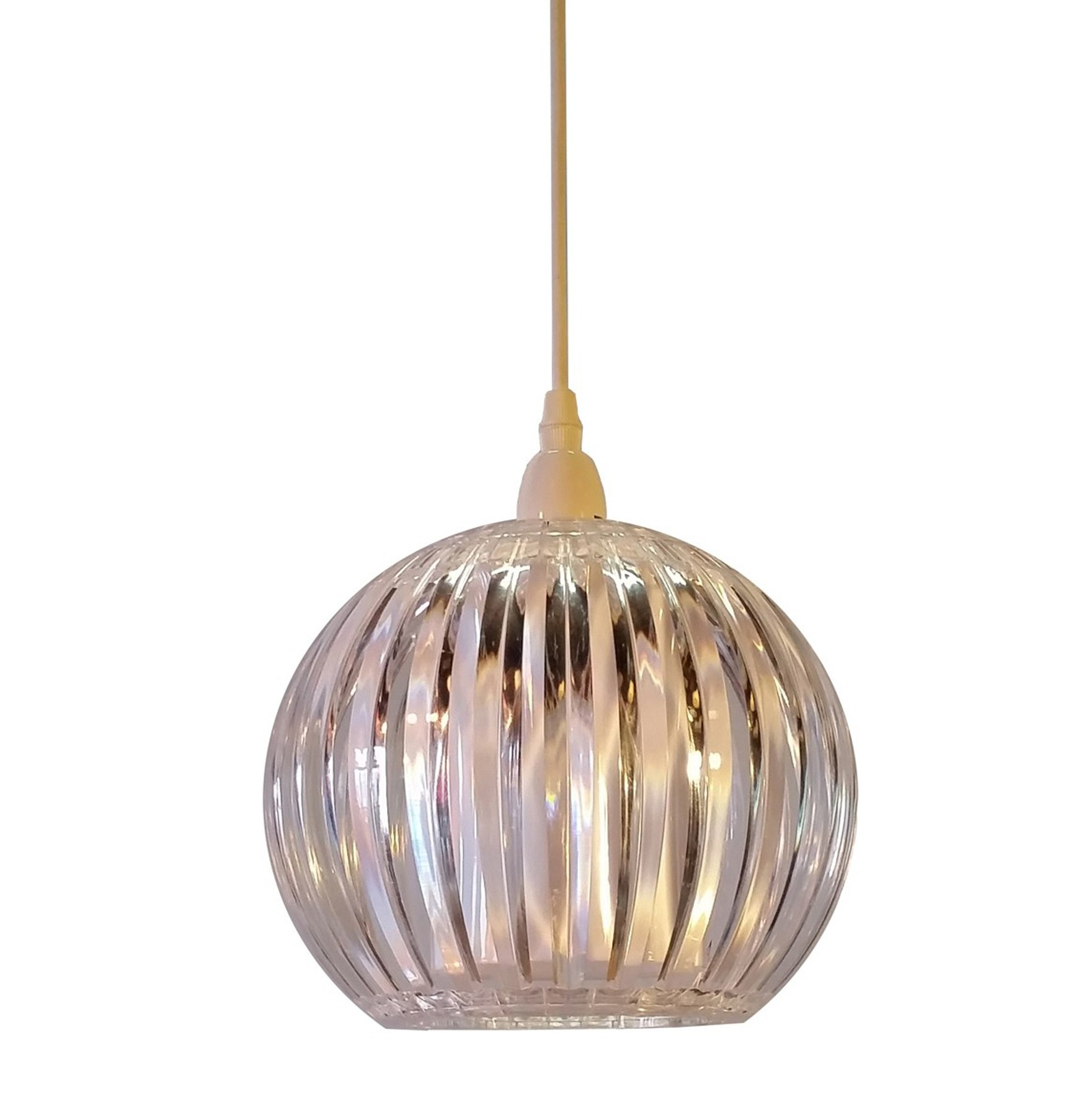 Kliving Lancia Clear Acrylic Non Electric Pendant Ceiling