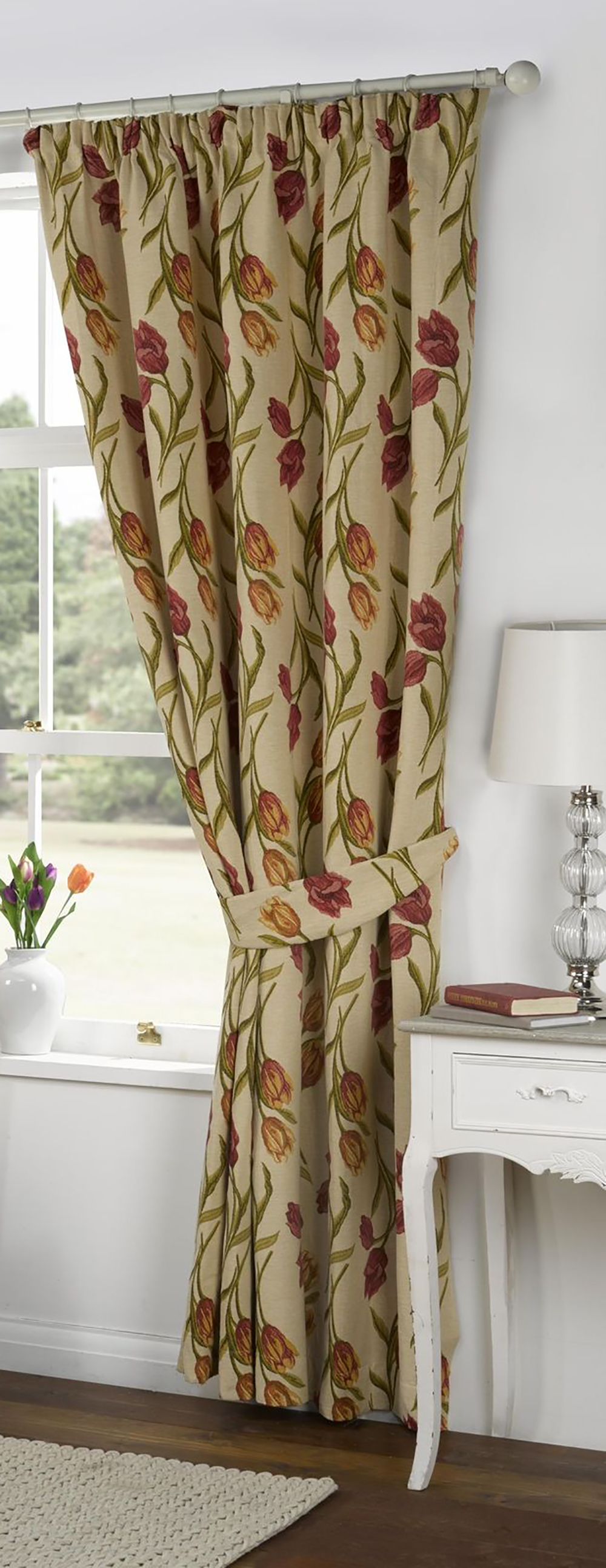 Kliving Amsterdam Tulip Fully Lined Tape Top Tapestry