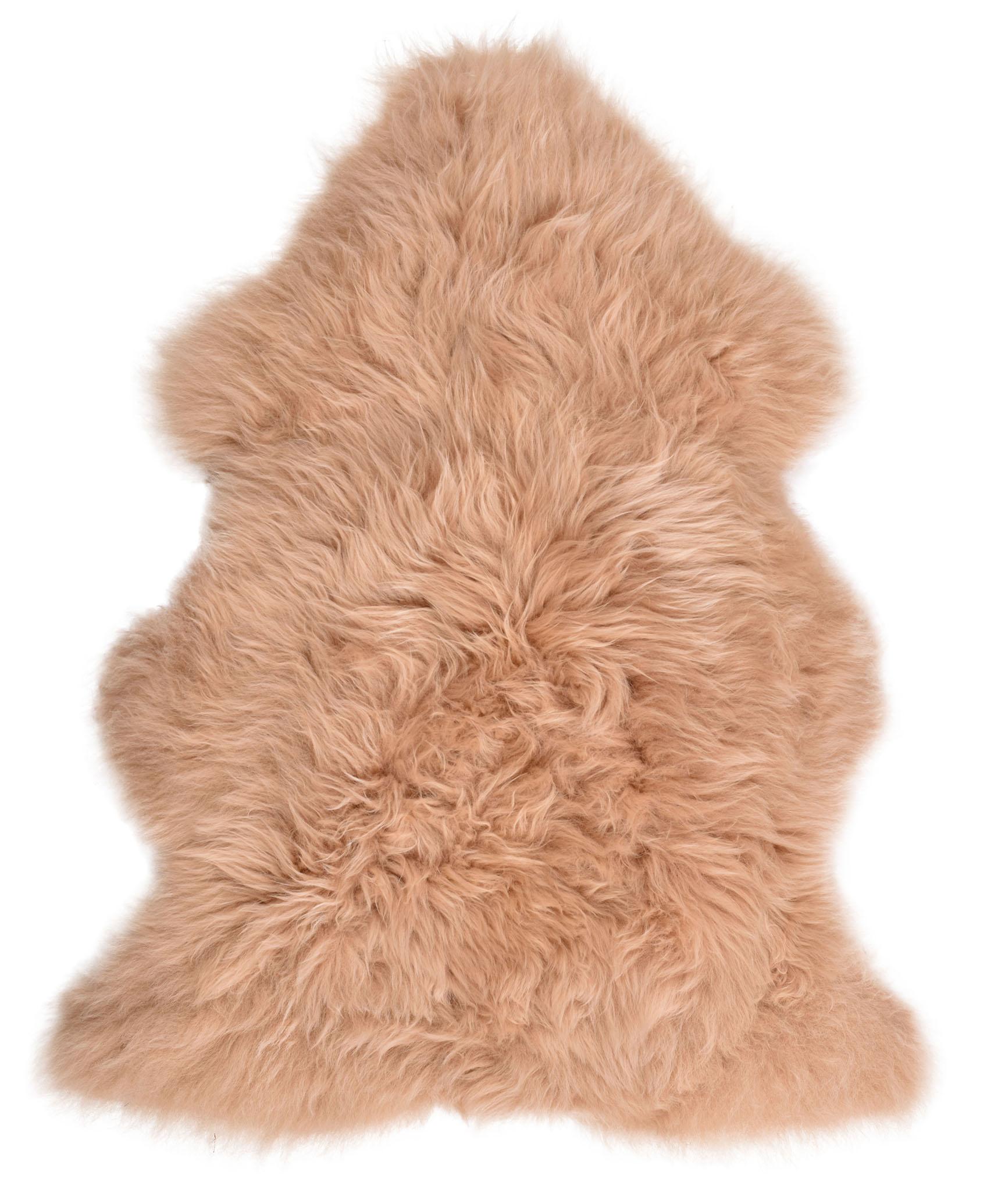 Grande Super Doux De Luxe Luxe Luxe Véritable Chaud Beige épais en peau de mouton Tapis Pelt Hide | Les Consommateurs D'abord  0005c4
