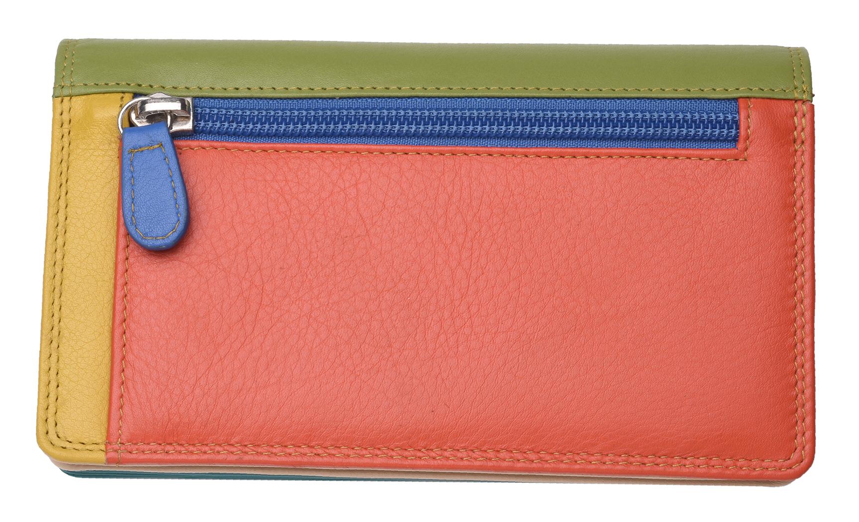 Golunski Leather Bifold purse Style graphics range 79000 colour multis Rfid New