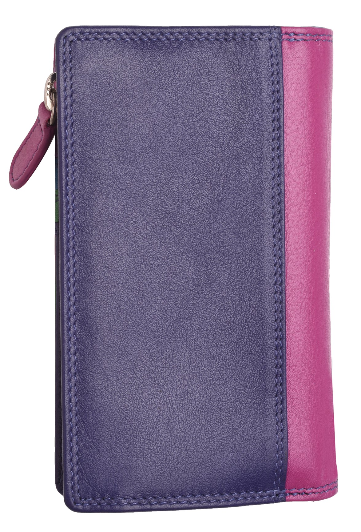Femme-Veritable-Multi-Couleur-RFID-Blocage-De-Haute-Qualite-Sac-a-Main-Portefeuille miniature 22