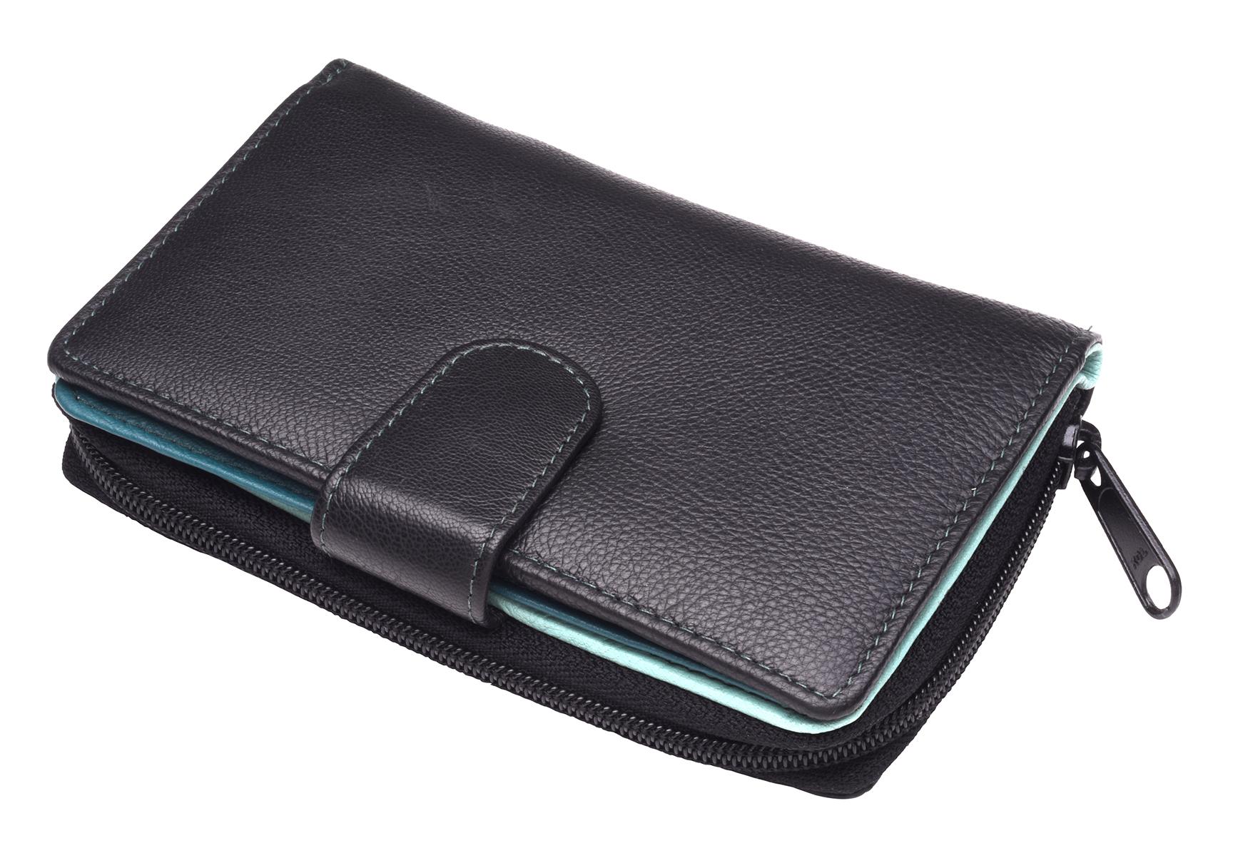 Ladies-Womens-RFID-Blocking-Safe-Leather-Bifold-Medium-Purse-Wallet-Coin-Section thumbnail 19