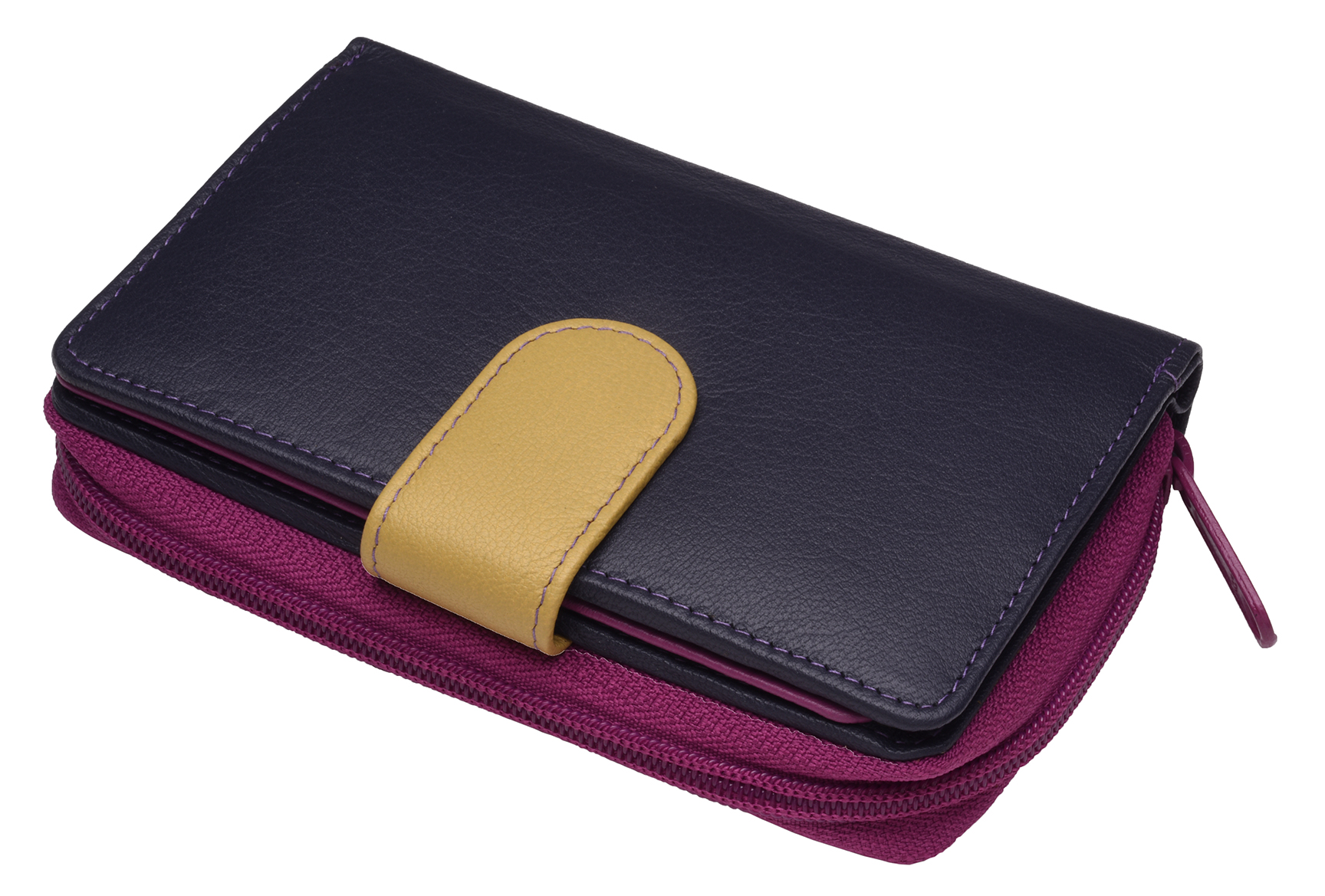 Ladies-Womens-RFID-Blocking-Safe-Leather-Bifold-Medium-Purse-Wallet-Coin-Section thumbnail 3