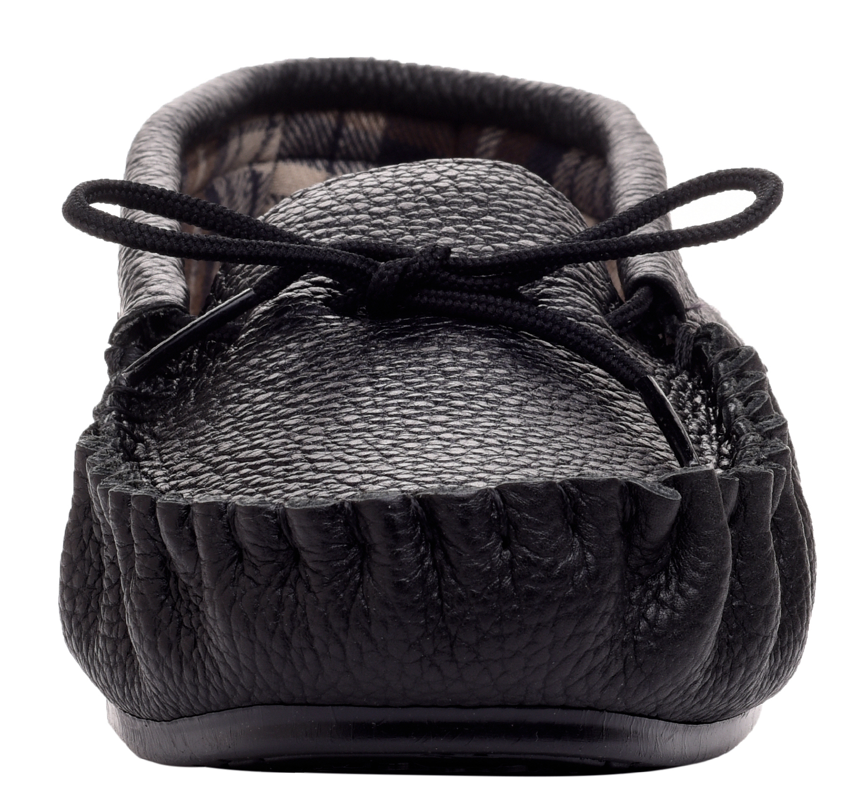 Leather-Moccasin-Slippers-UK-Made-for-Men-and-Ladies-Cotton-Lining-by-Lambland thumbnail 6