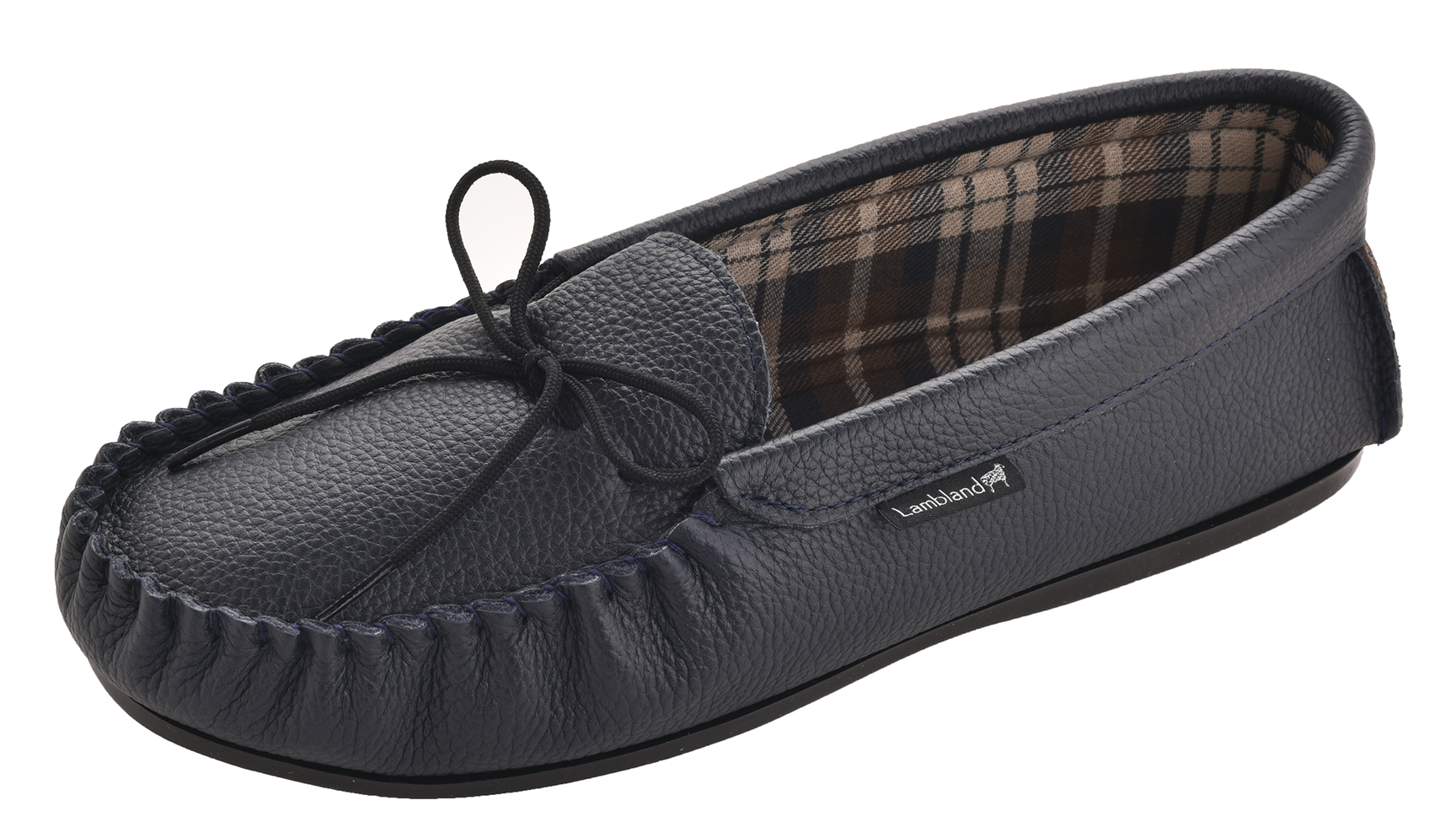 Leather-Moccasin-Slippers-UK-Made-for-Men-and-Ladies-Cotton-Lining-by-Lambland thumbnail 18