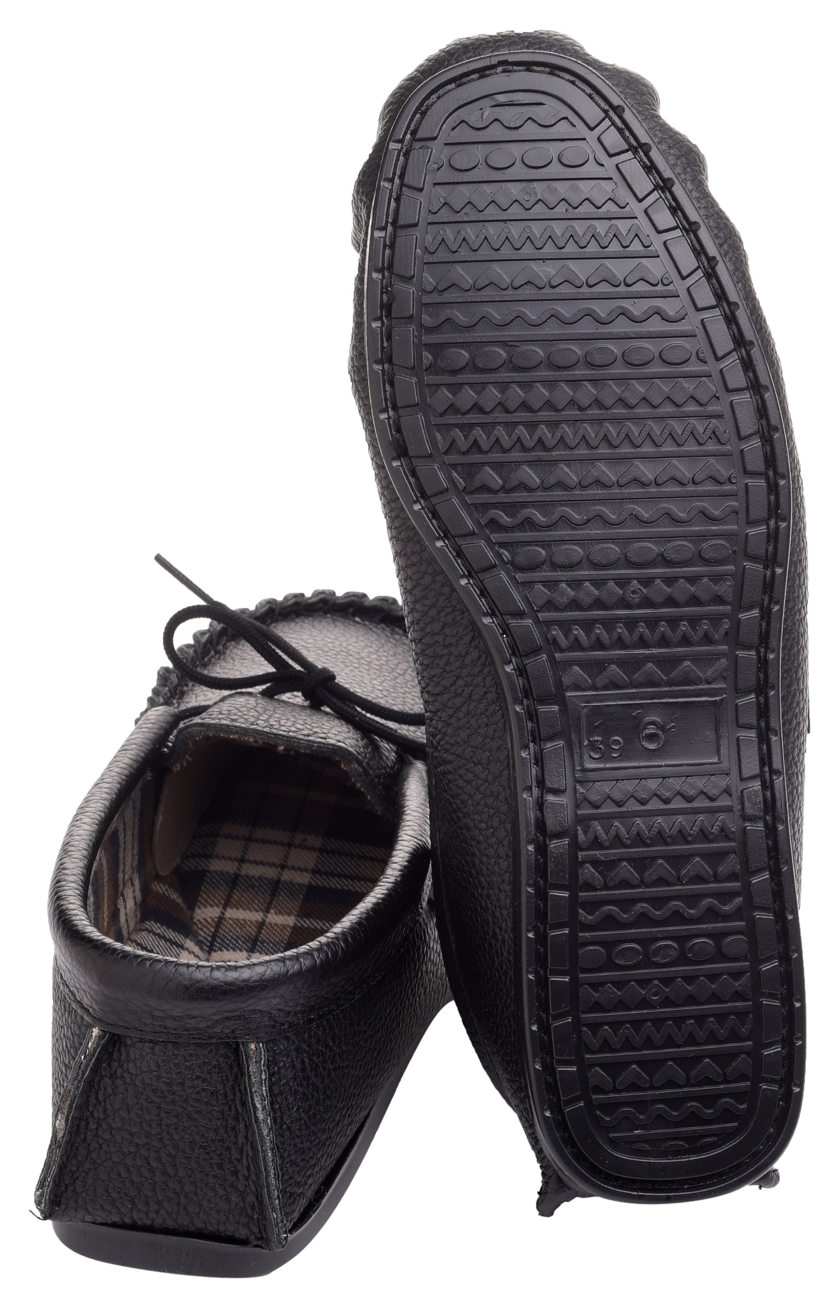 Leather-Moccasin-Slippers-UK-Made-for-Men-and-Ladies-Cotton-Lining-by-Lambland thumbnail 9