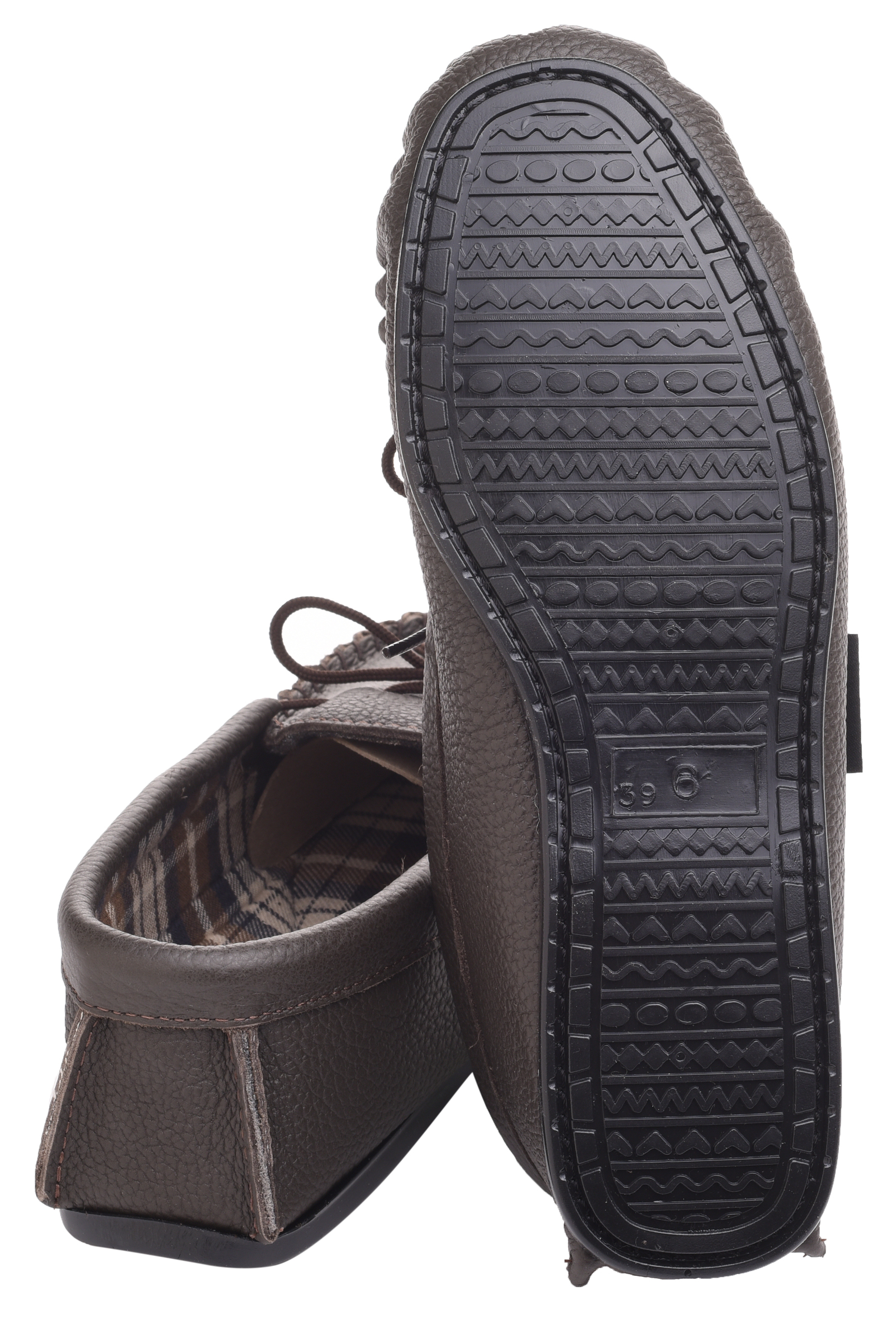 Leather-Moccasin-Slippers-UK-Made-for-Men-and-Ladies-Cotton-Lining-by-Lambland thumbnail 16