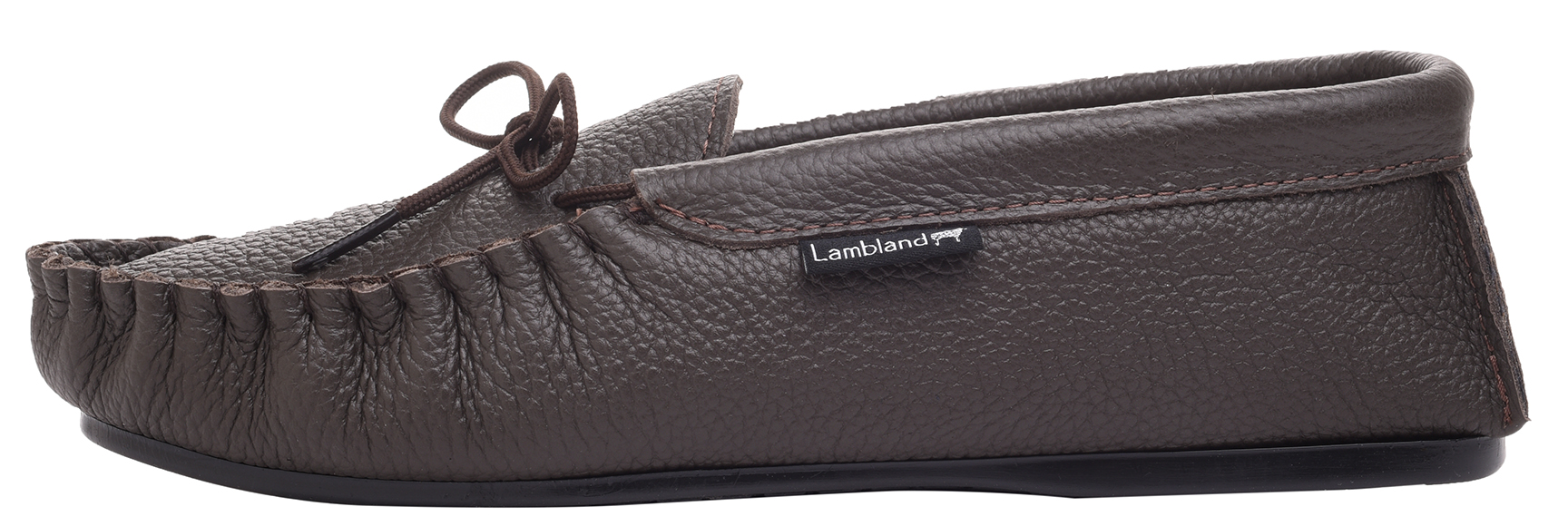 Leather-Moccasin-Slippers-UK-Made-for-Men-and-Ladies-Cotton-Lining-by-Lambland thumbnail 12