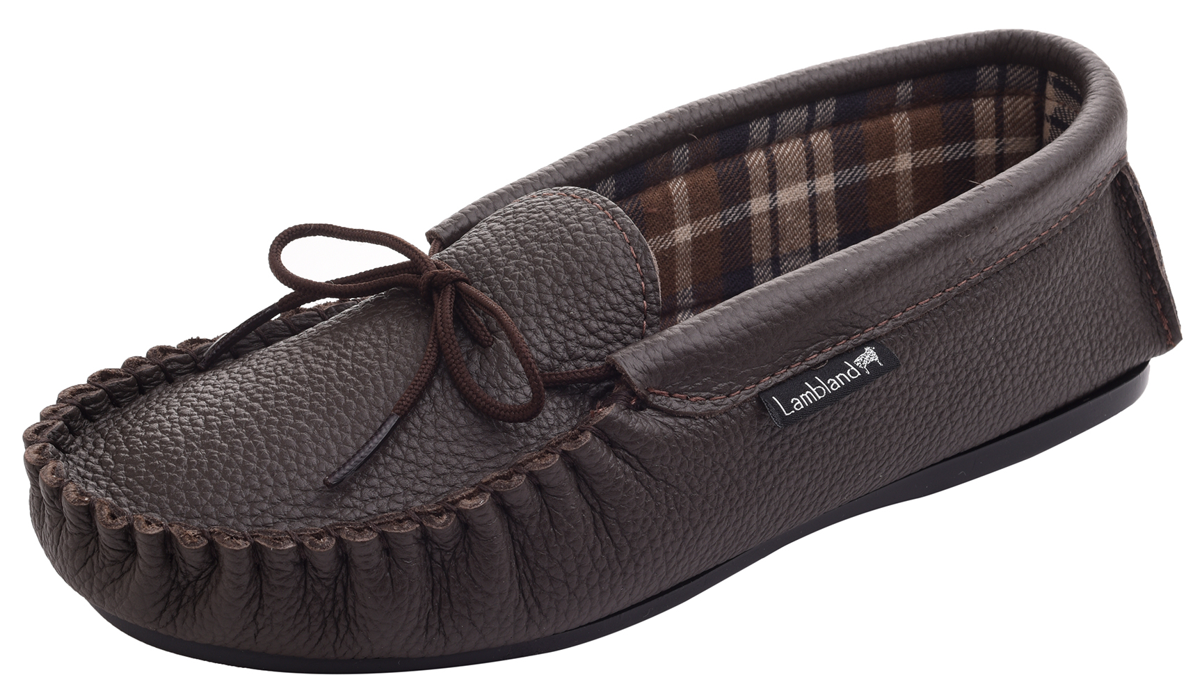 Leather-Moccasin-Slippers-UK-Made-for-Men-and-Ladies-Cotton-Lining-by-Lambland thumbnail 11
