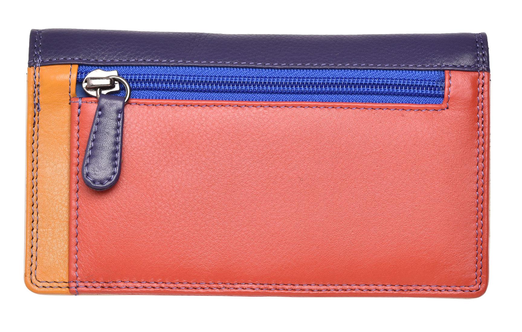 FEMMES-SUPER-DOUX-D-039-ORIGINE-LUXE-en-cuir-Enveloppe-RFID-Bloquant-Purse-Wallet miniature 8