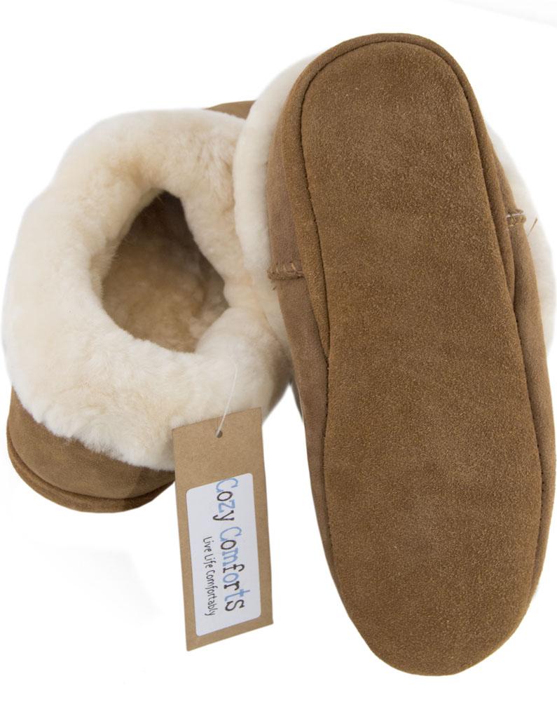 Donna Giro Completo Completo Completo Pelle di Pecora Pantofola con Tacco e Suola morbida e pelle di pecora polsino 1eb328