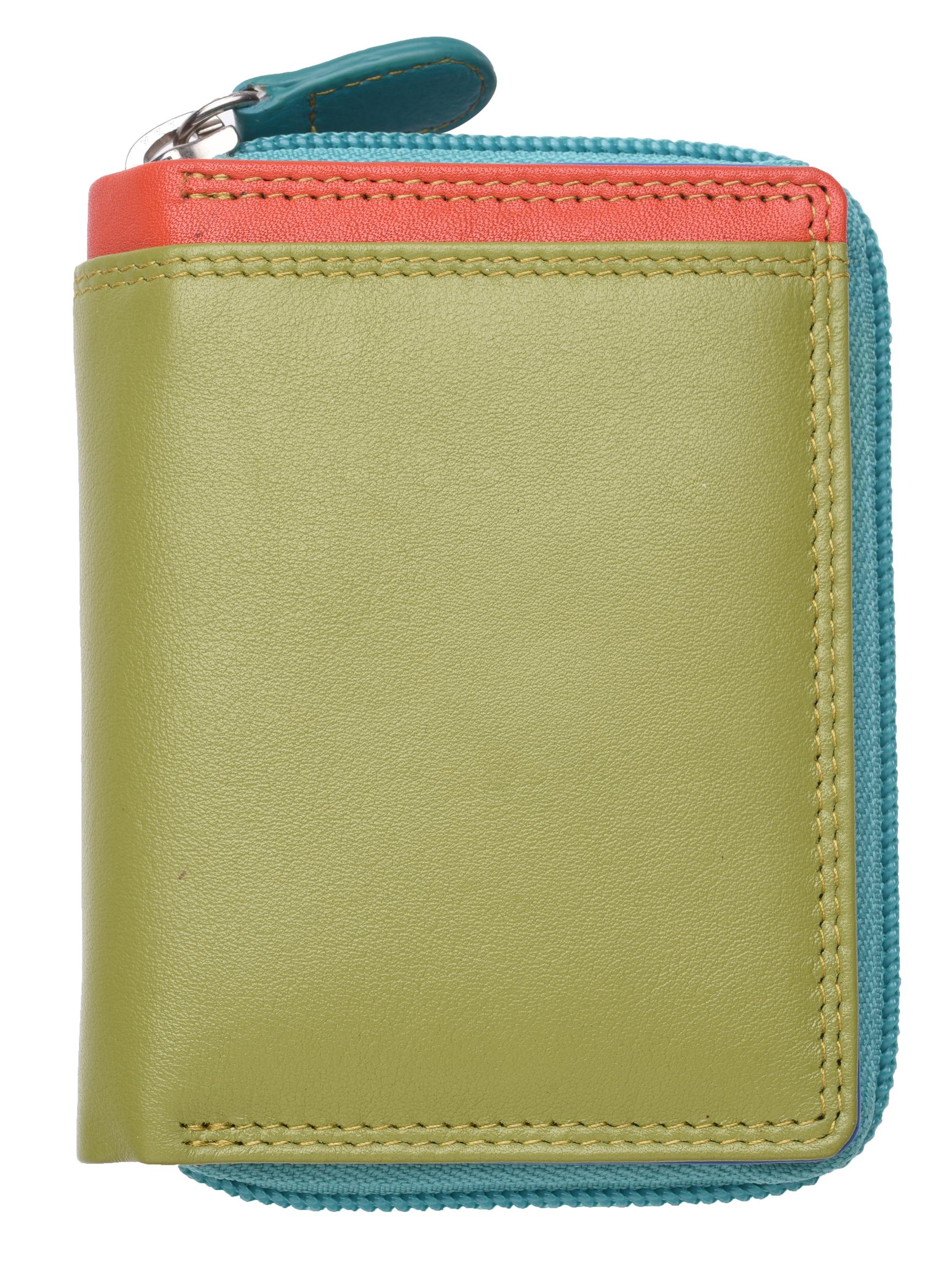 Femme-Femmes-RFID-Bloquant-en-Cuir-Veritable-Petit-Sac-a-main-portefeuille-vert-rose-rouge miniature 25