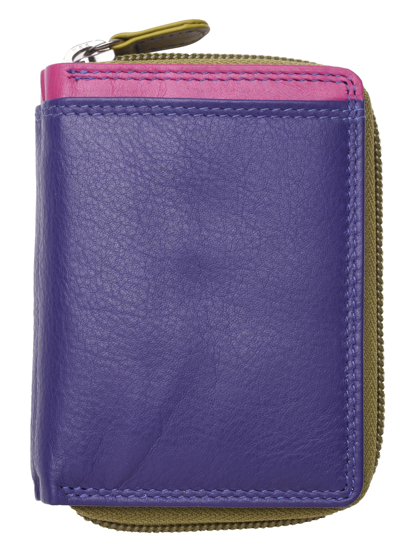 Femme-Femmes-RFID-Bloquant-en-Cuir-Veritable-Petit-Sac-a-main-portefeuille-vert-rose-rouge miniature 29