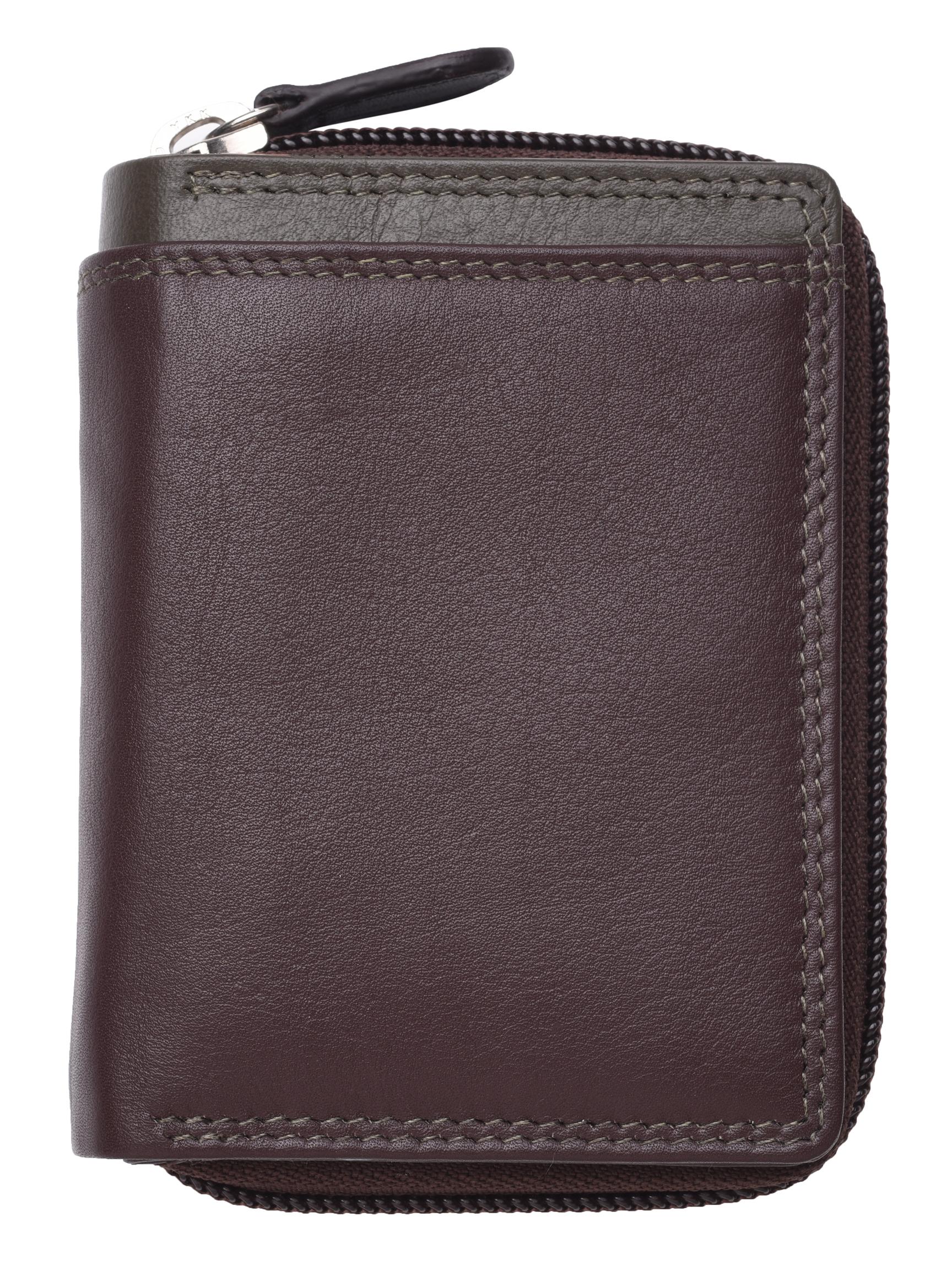Femme-Femmes-RFID-Bloquant-en-Cuir-Veritable-Petit-Sac-a-main-portefeuille-vert-rose-rouge miniature 9