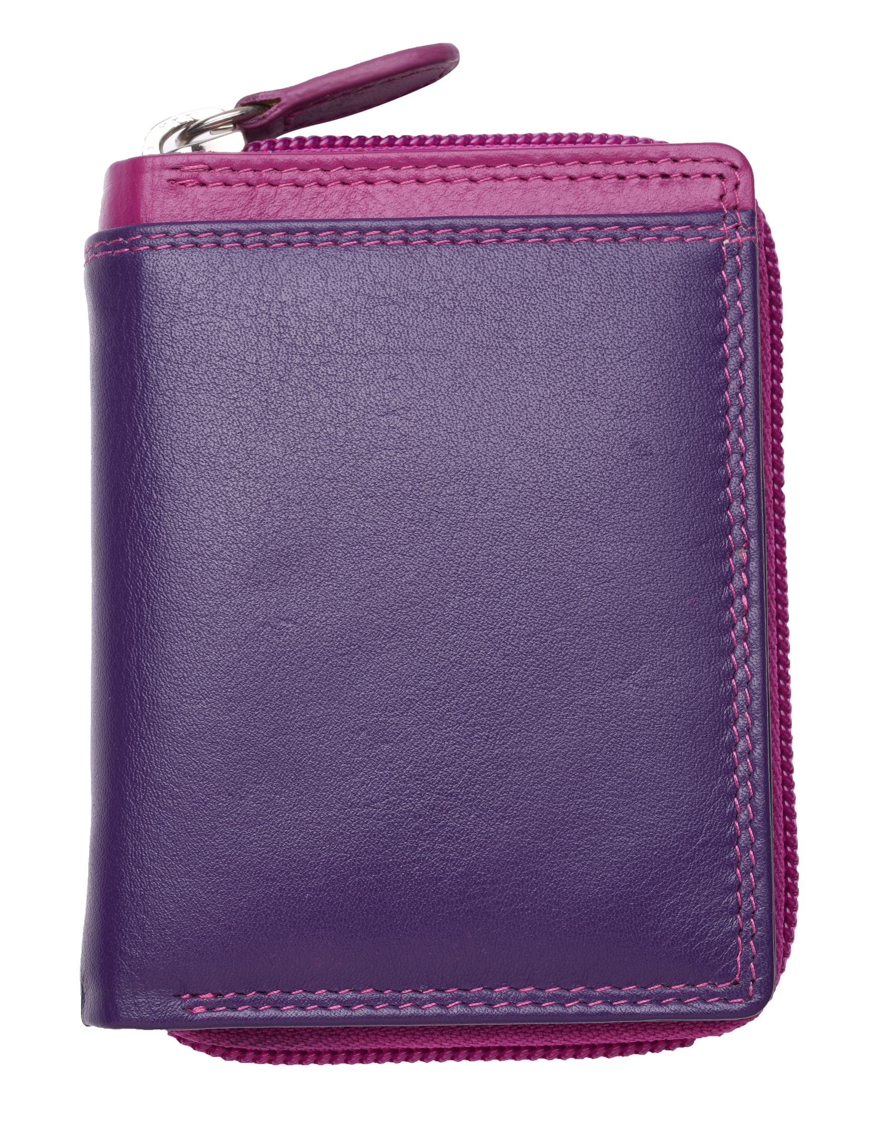 Femme-Femmes-RFID-Bloquant-en-Cuir-Veritable-Petit-Sac-a-main-portefeuille-vert-rose-rouge miniature 17