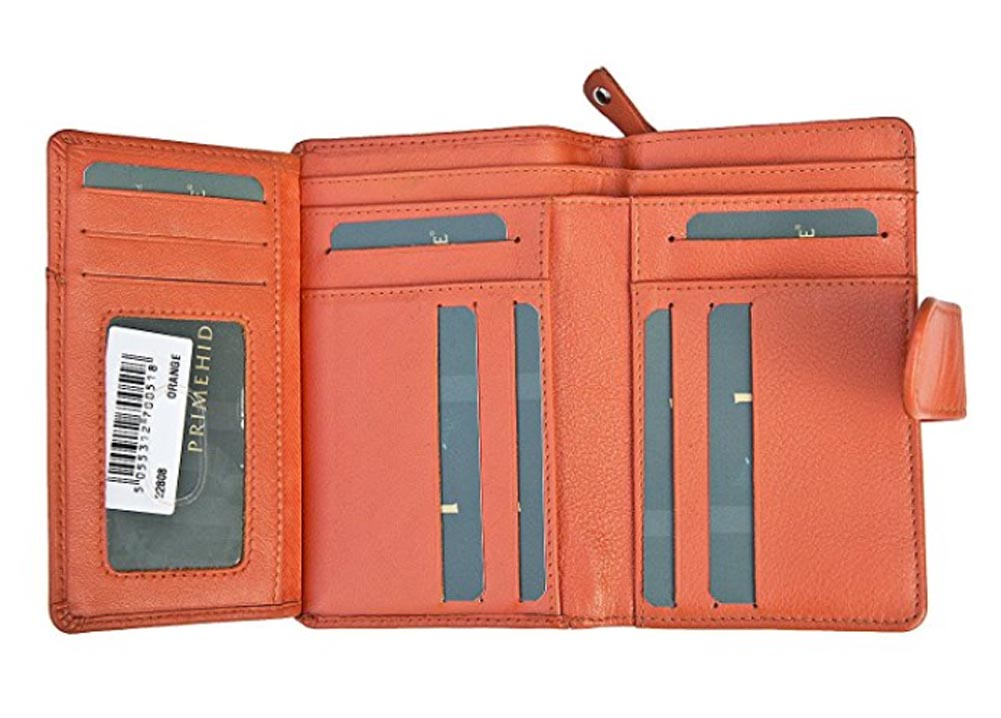 Ladies-Womens-Super-Soft-Large-Genuine-Leather-Purse-Wallet-Zipped-Coin-Section miniature 24