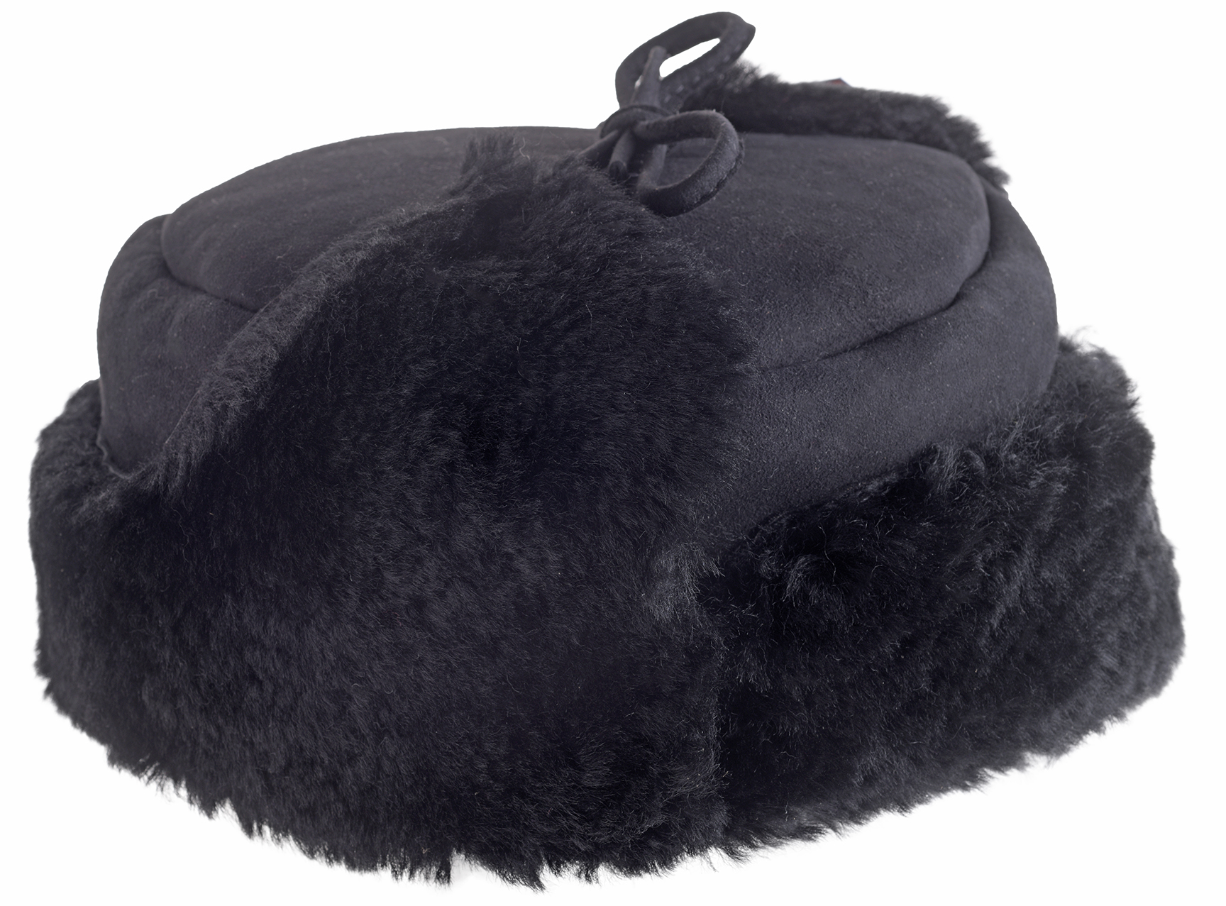 43e636103 Details about Mens Ladies Double Faced Genuine Fluffy Sheepskin Trapper Hat  Hats British Made