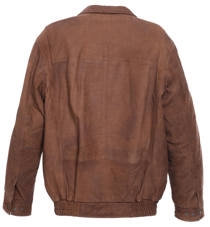 60fc8bffc5a Mens Super Soft Full Leather Centre Zip Multi Zip Jacket Coat Black ...