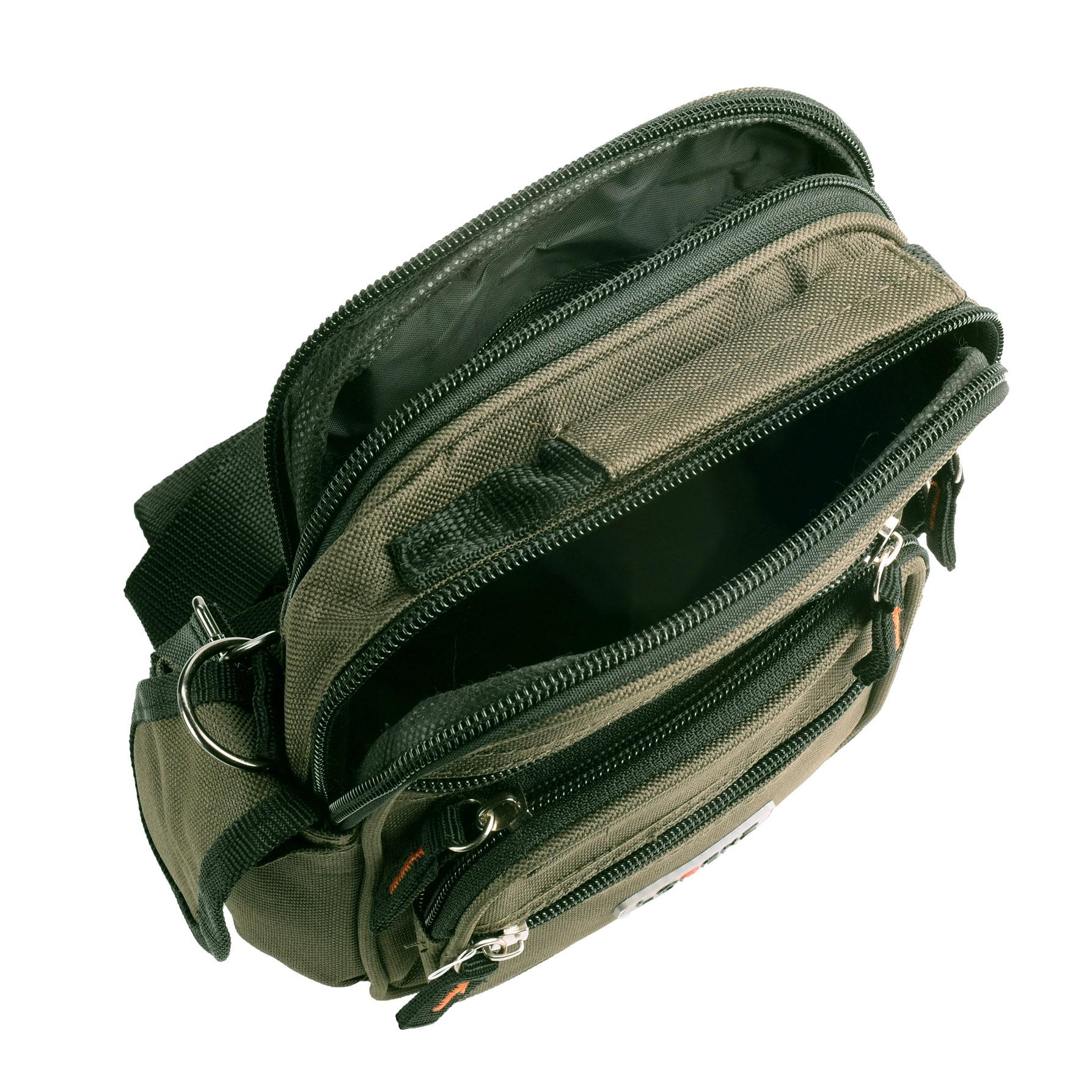 495d401d27 Canvas Multi-Purpose Camera Travel Bag Detachable Strap Belt Loop ...