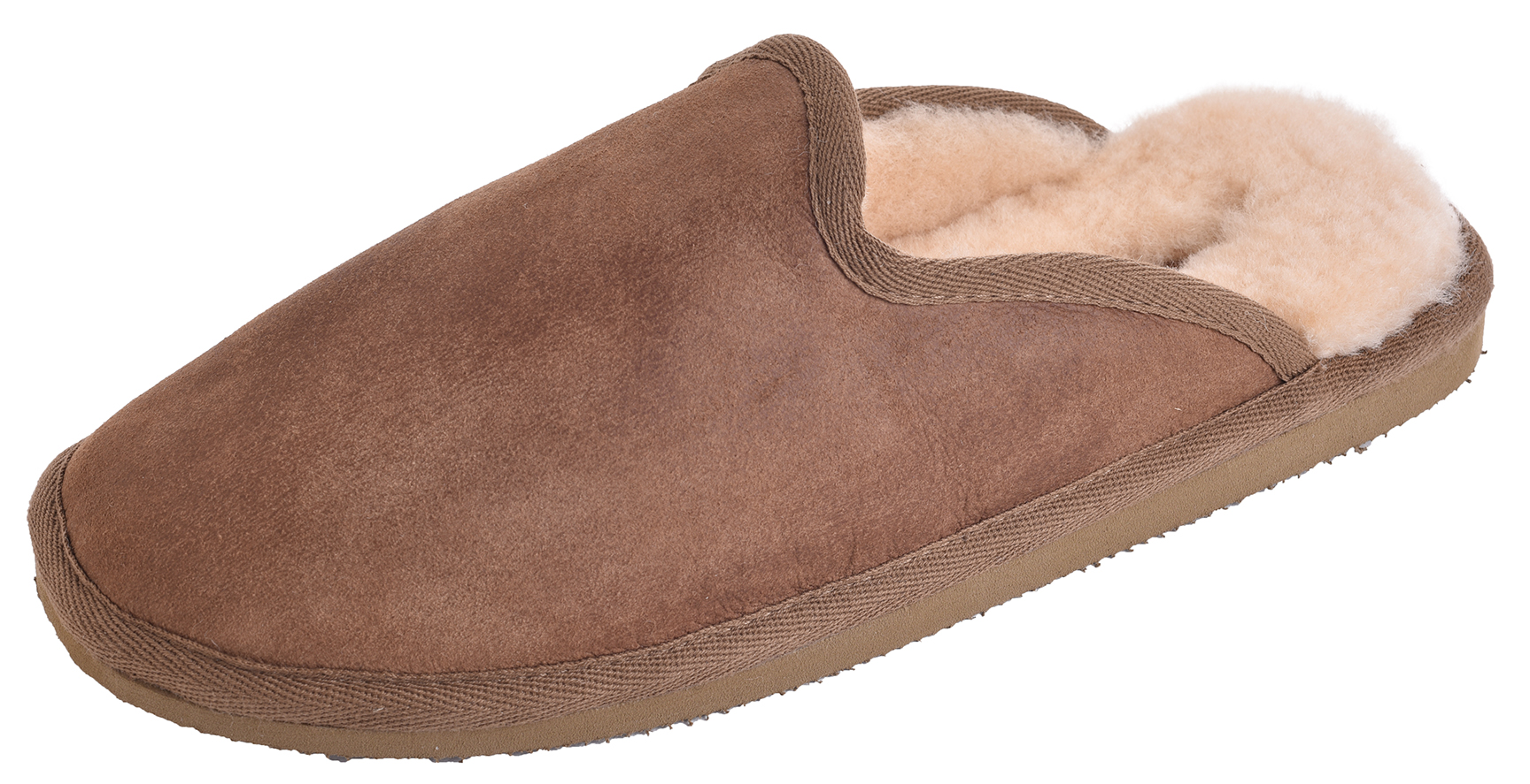 Mens Genuine Sheepskin Slipper Mules with EVA Sole by Shepherd - Paul