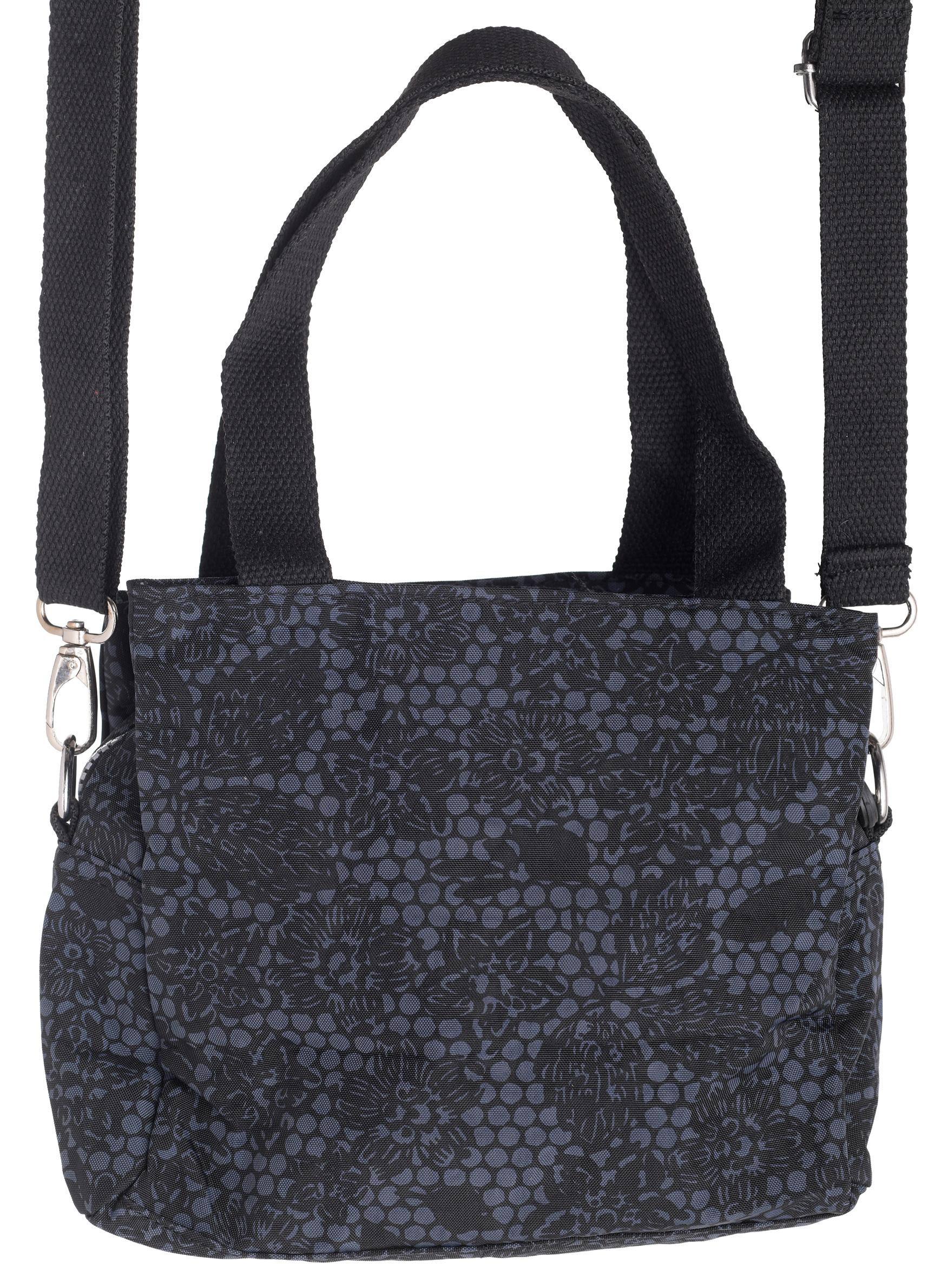 Ladies-Assorted-Pattern-Lightweight-Handbag-Detachable-Shoulder-Strap- bd3d7e43547f8