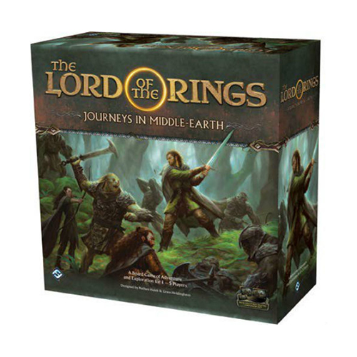 Lord of the Rings Journeys in Middle Earth Board Game Sealed New NIB FFG