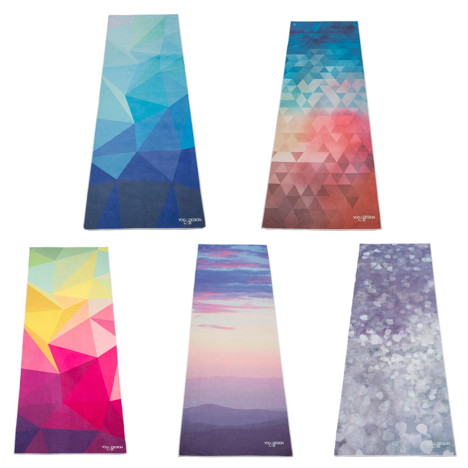 6aa080e26ac809 Details about Yoga Design Lab Super Lightweight Ultra Absorbent Microfiber  Surface Yoga Towel